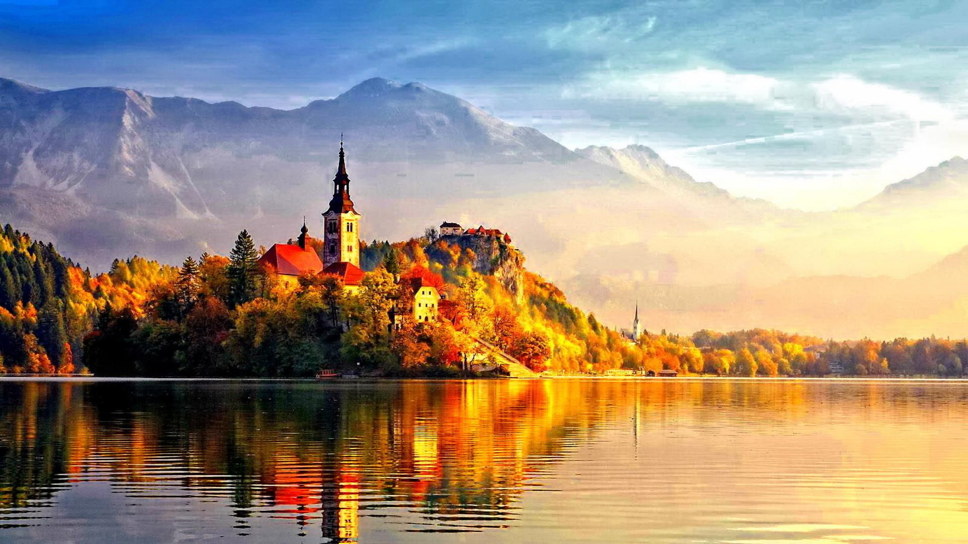 Beautiful+Autumn | Beautiful Autumn Castle | Wallpapers, HD backgrounds