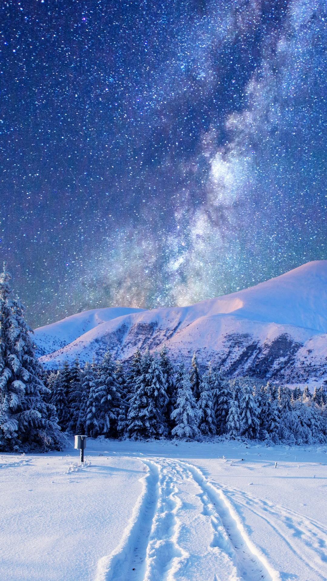 Winter night. iPhone 7. Download 0