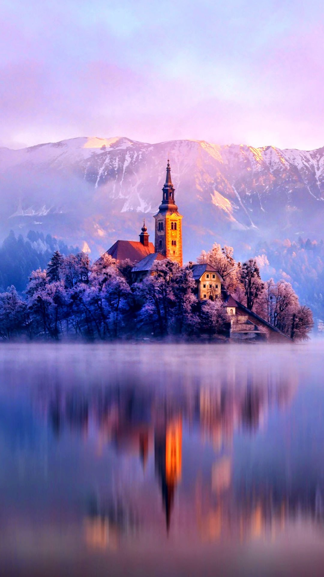 … lake monastery fortress winter iphone 8 wallpaper download …