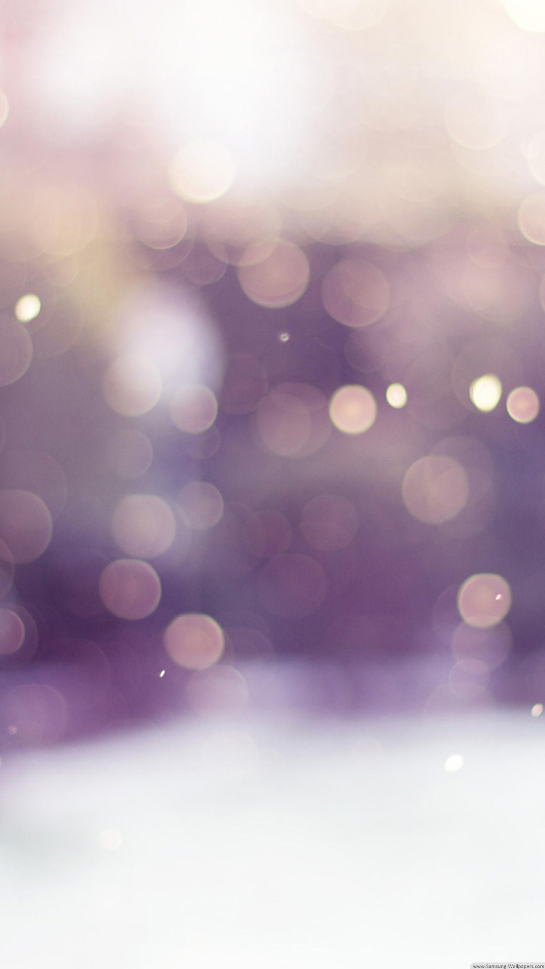 Winter Snow Bokeh iPhone 6 Plus HD Wallpaper …