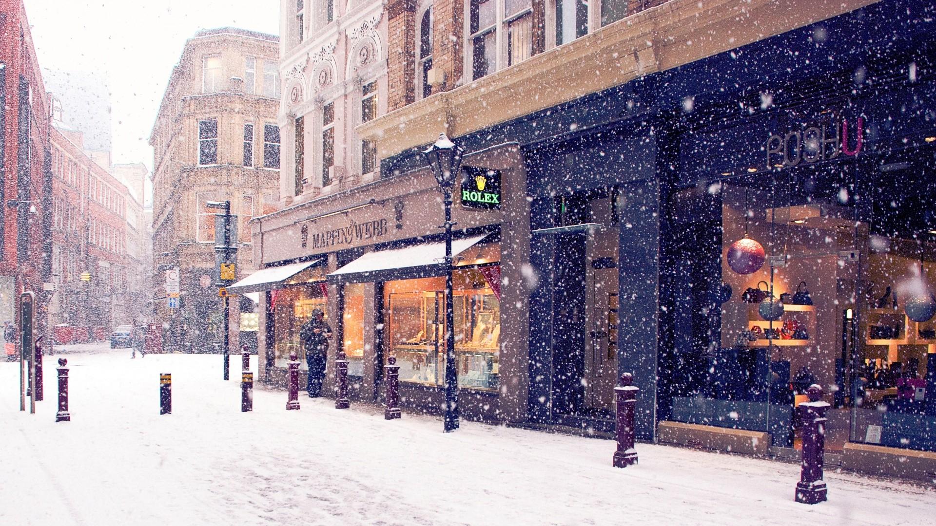 Hd desktop · snow city wallpaper …