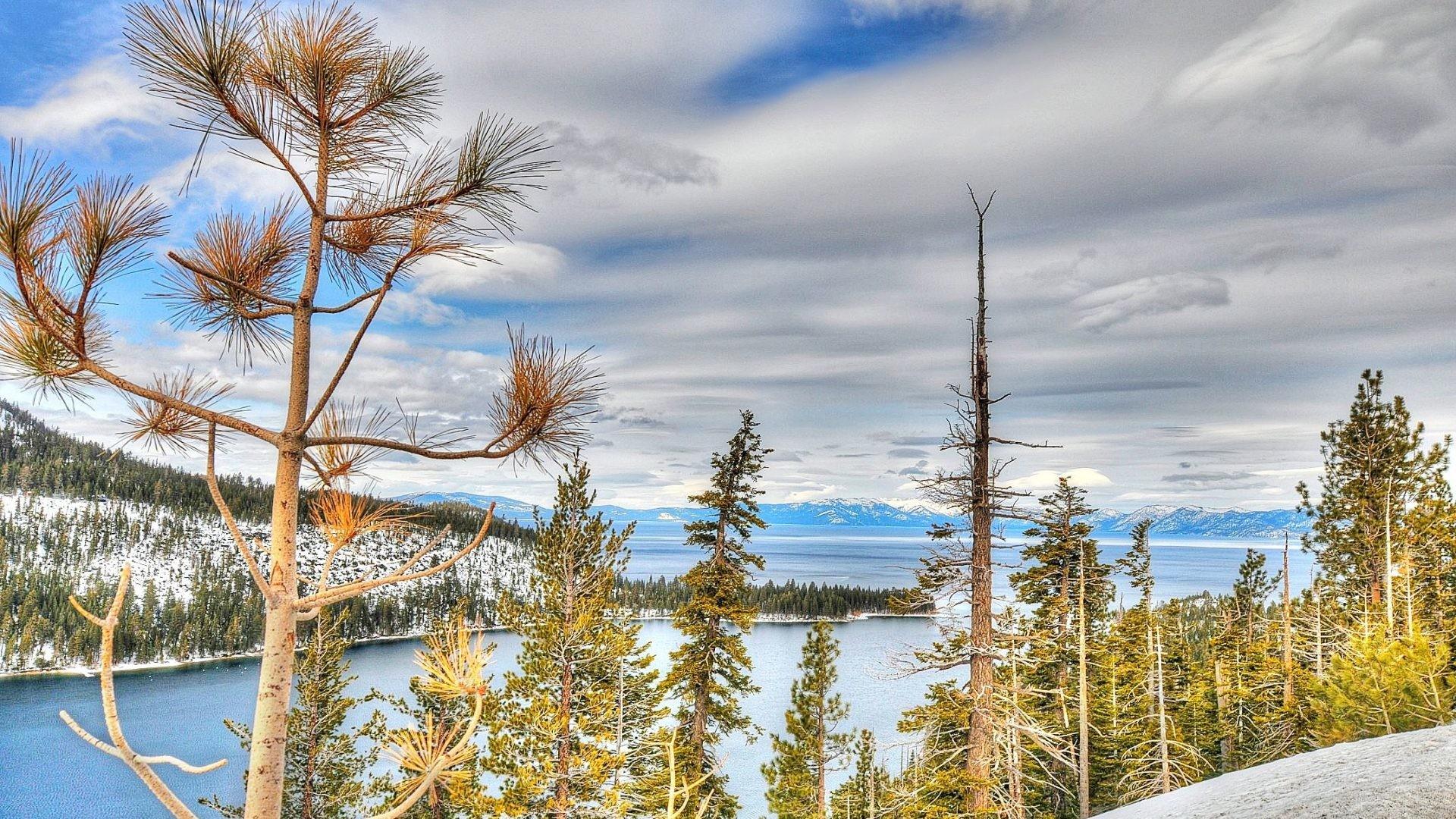 Tahoe Tag – Lake Nevada Winter Tahoe California Autumn Nature Photo  Wallpaper for HD 16: