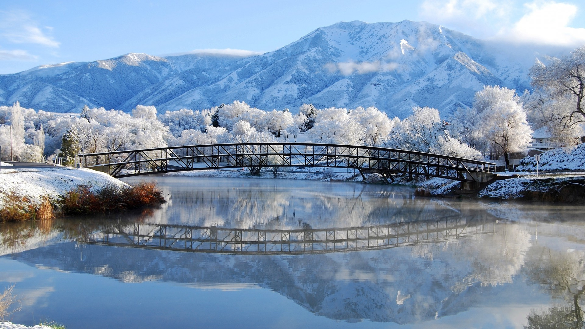 nature, Winter, Landscape, Snow, Reflection Wallpapers HD / Desktop and  Mobile Backgrounds