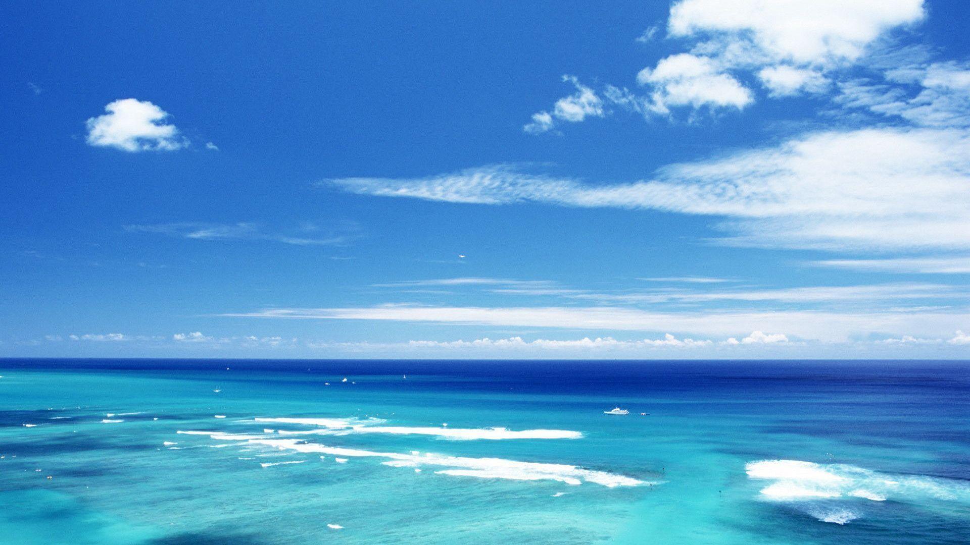 Images For > Ocean Scene Wallpaper