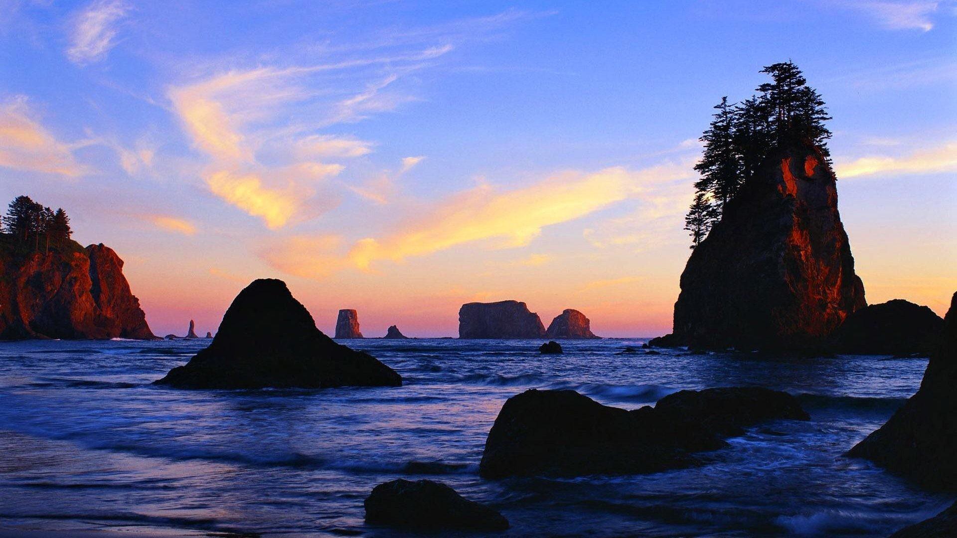 Ocean Tag – Sunrise Lovely Clouds Brach Nice Nature Shore Sea Summer Waves  Coast Pretty Amazing
