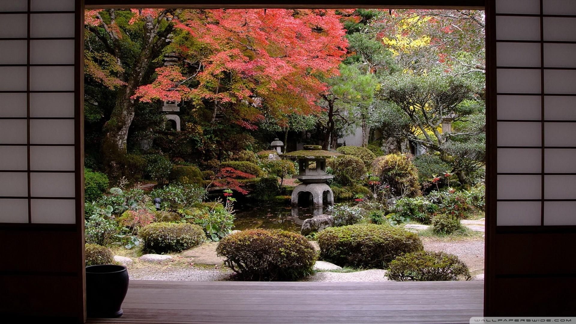 Japanese Garden Wallpaper Inspiration Design 1714526 Inspiration Designs