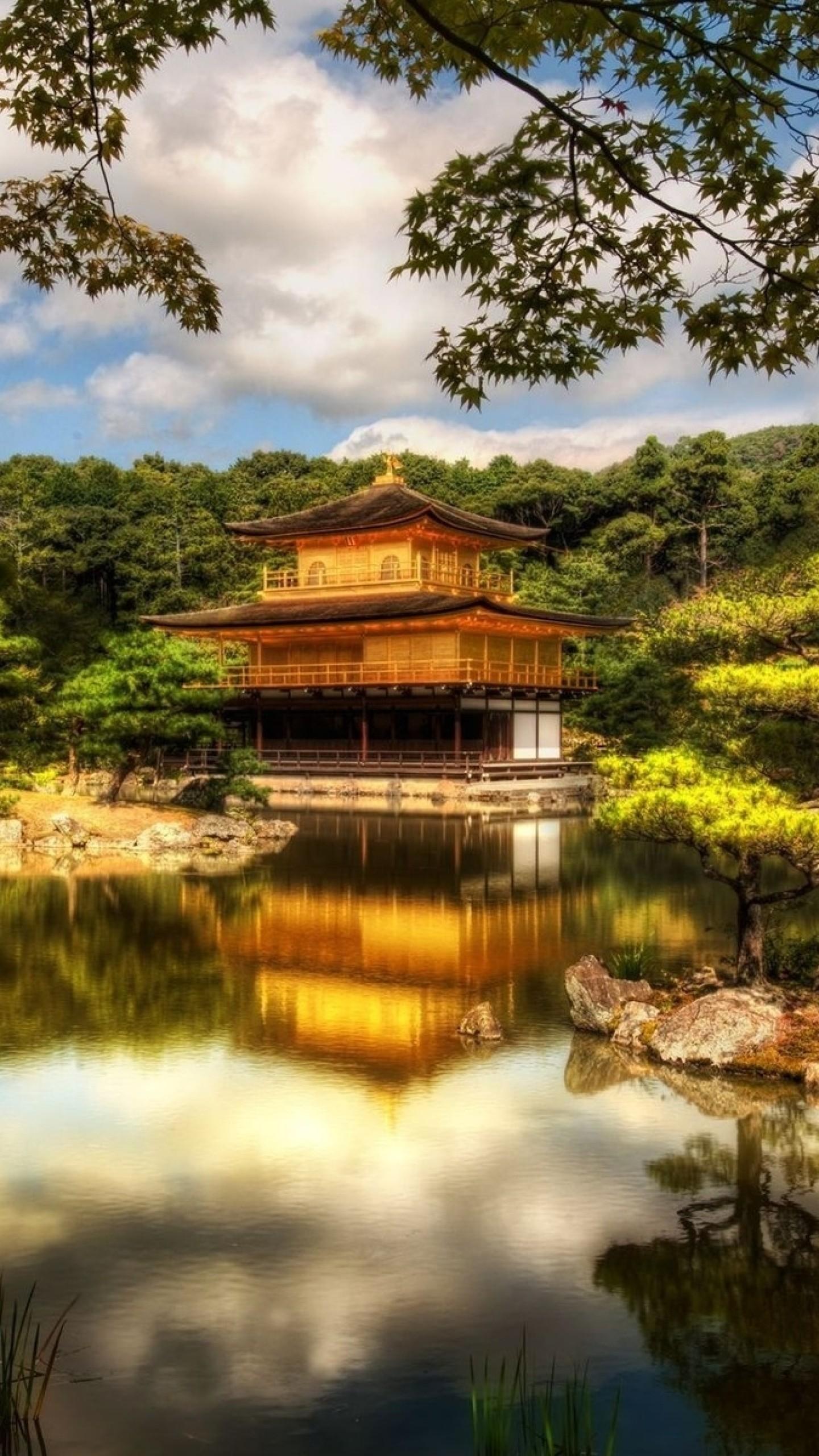 Wallpaper ryoanji zen garden, japan, mirabell, gardens, austria