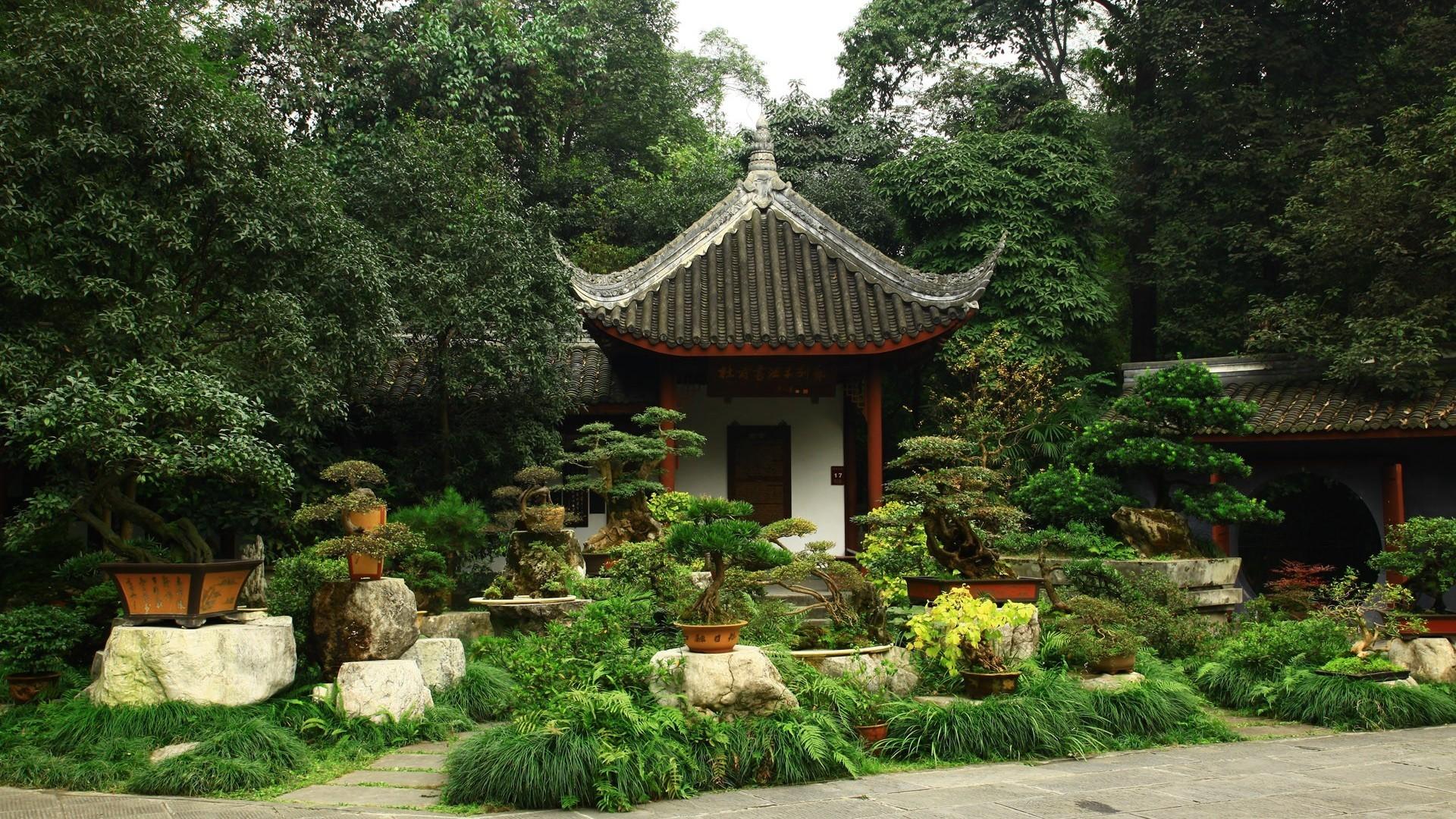 bonsai garden   Japanese Bonsai Garden Wallpaper/Background 1920 x 1080 –  id: 344417