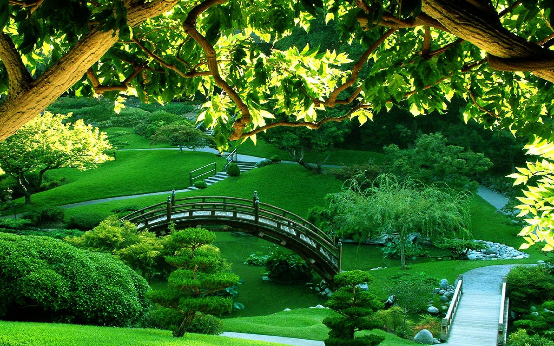Japanese Garden at Huntington Library and Botanical Gardens in San Marino,  Ca.