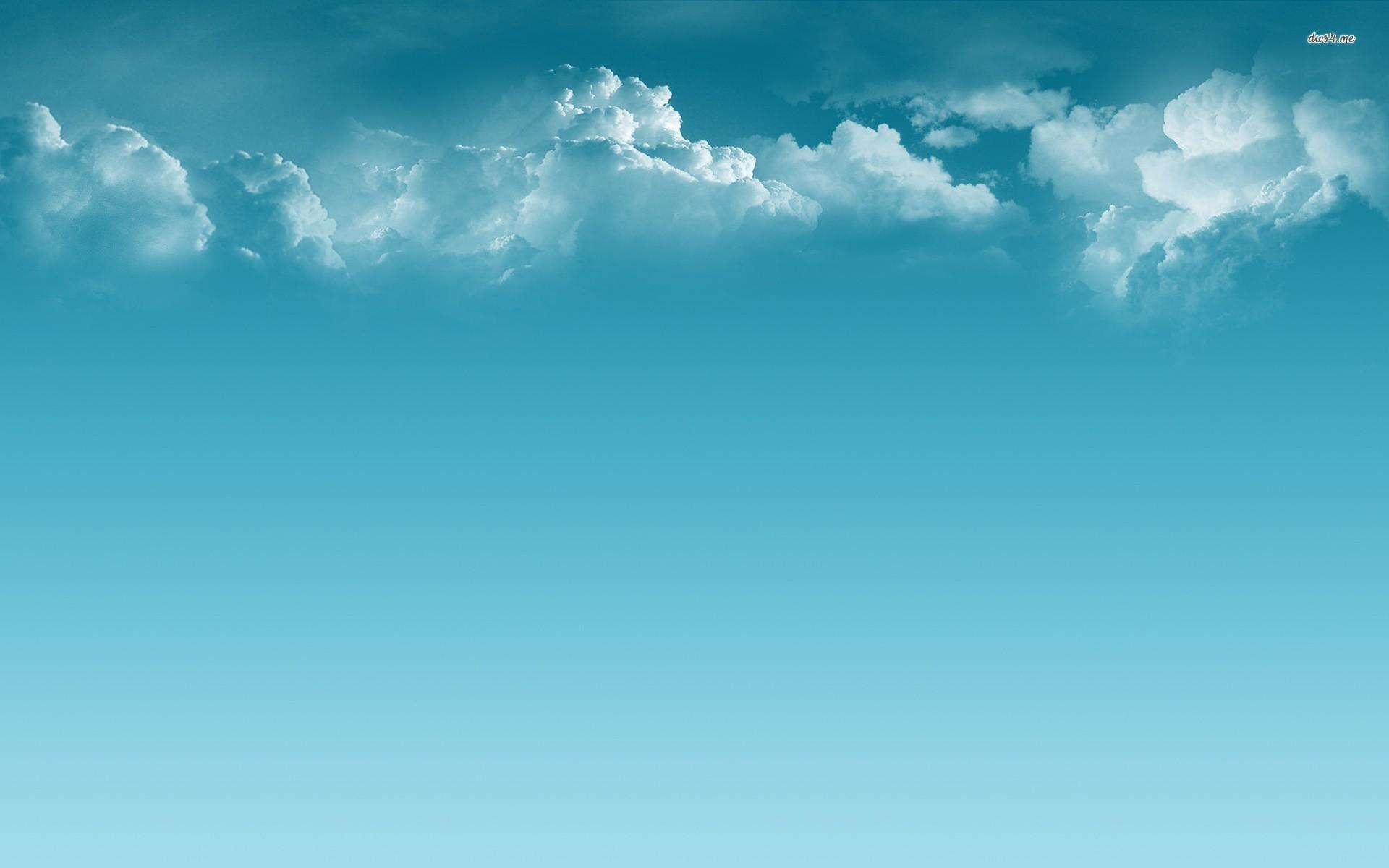 clouds-and-blue-sky-1920×1200-digital-art-wallpaper