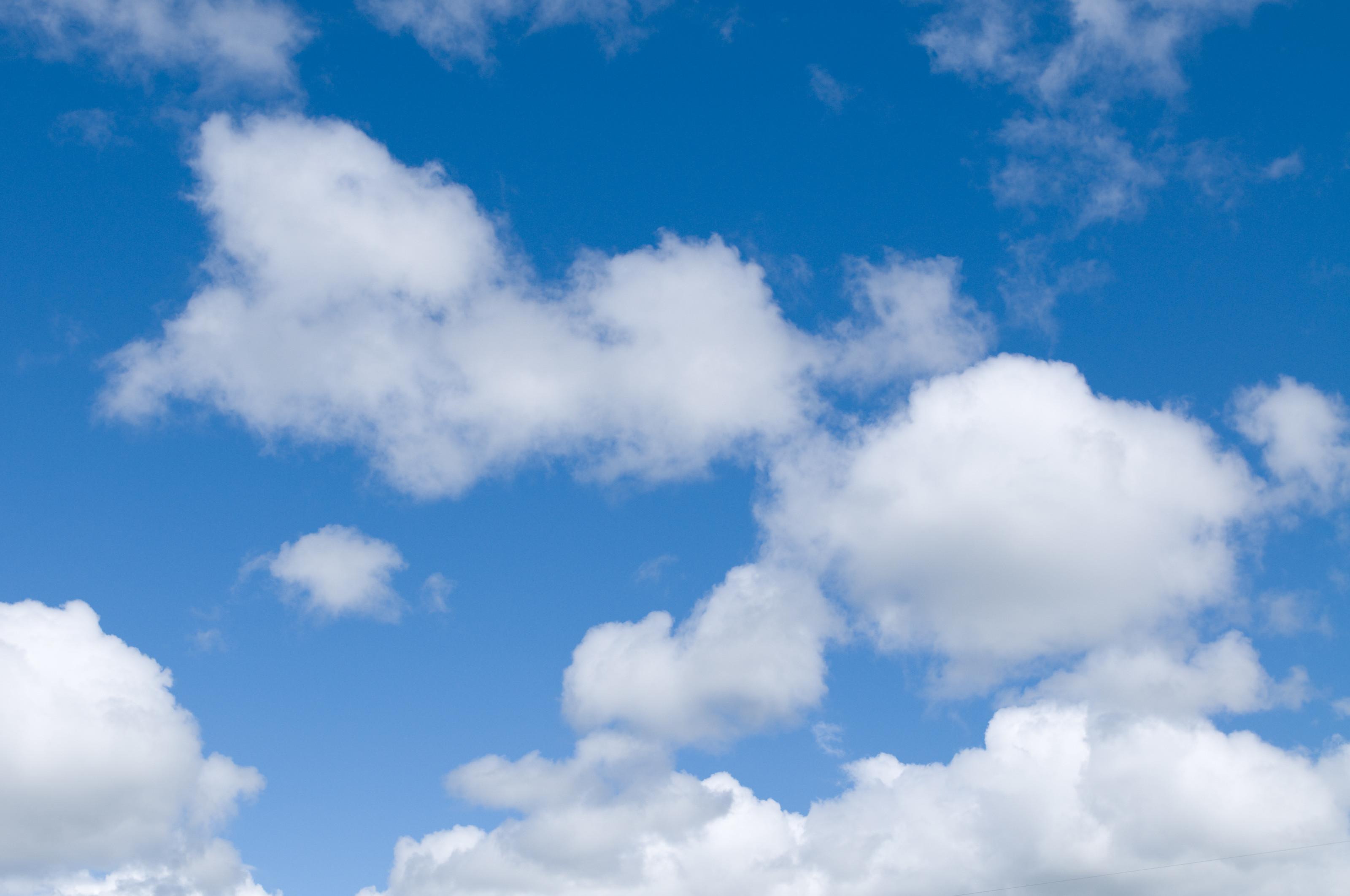 Cloud Blue Sky Clouds Background