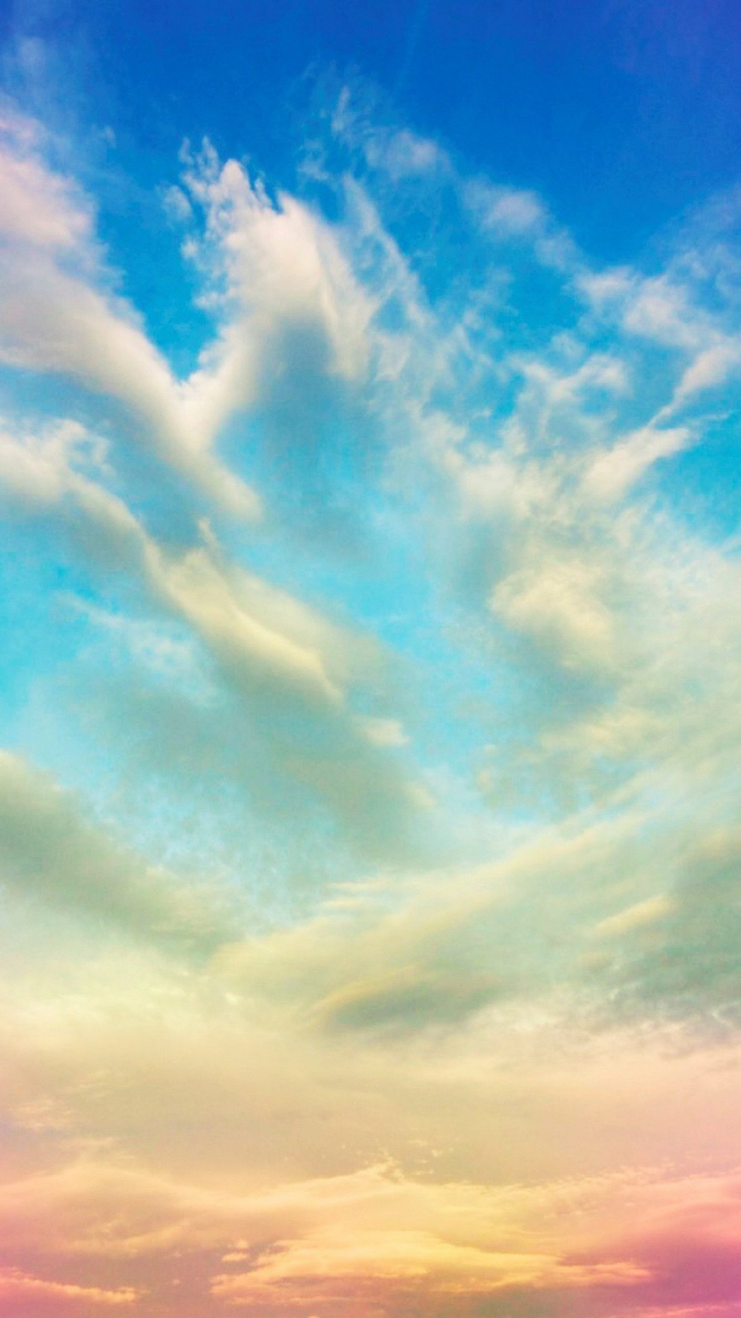 Colorful Clouds Sky Sunset iPhone 6 Plus HD Wallpaper …