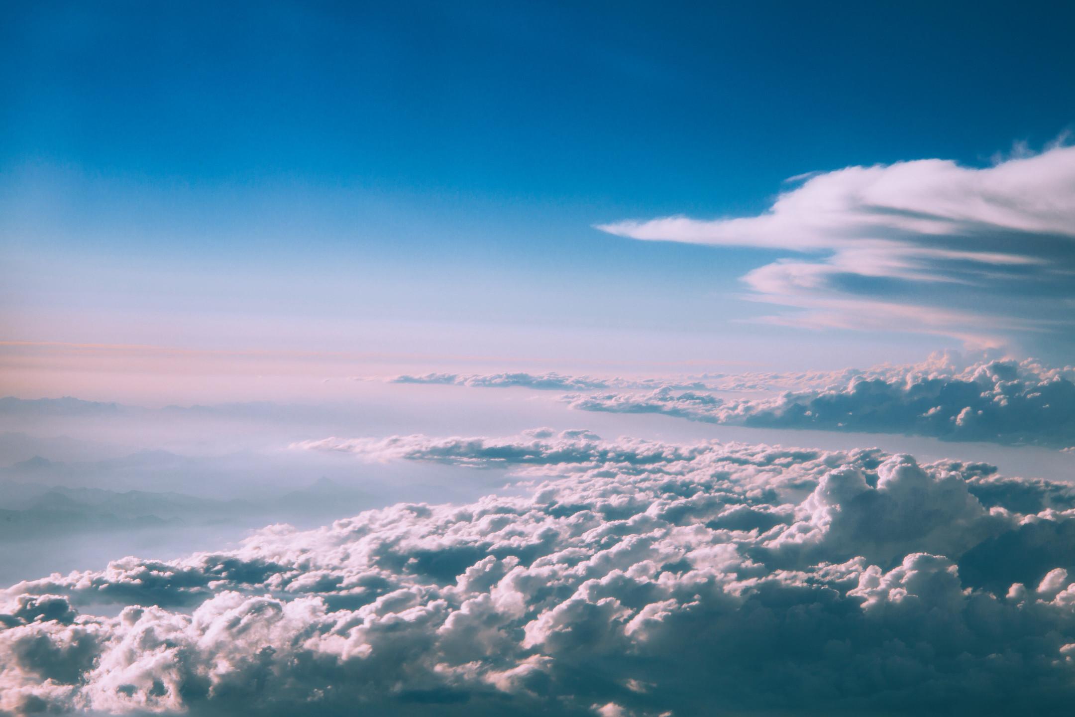 Wallpaper Clouds, Sky, Shroud