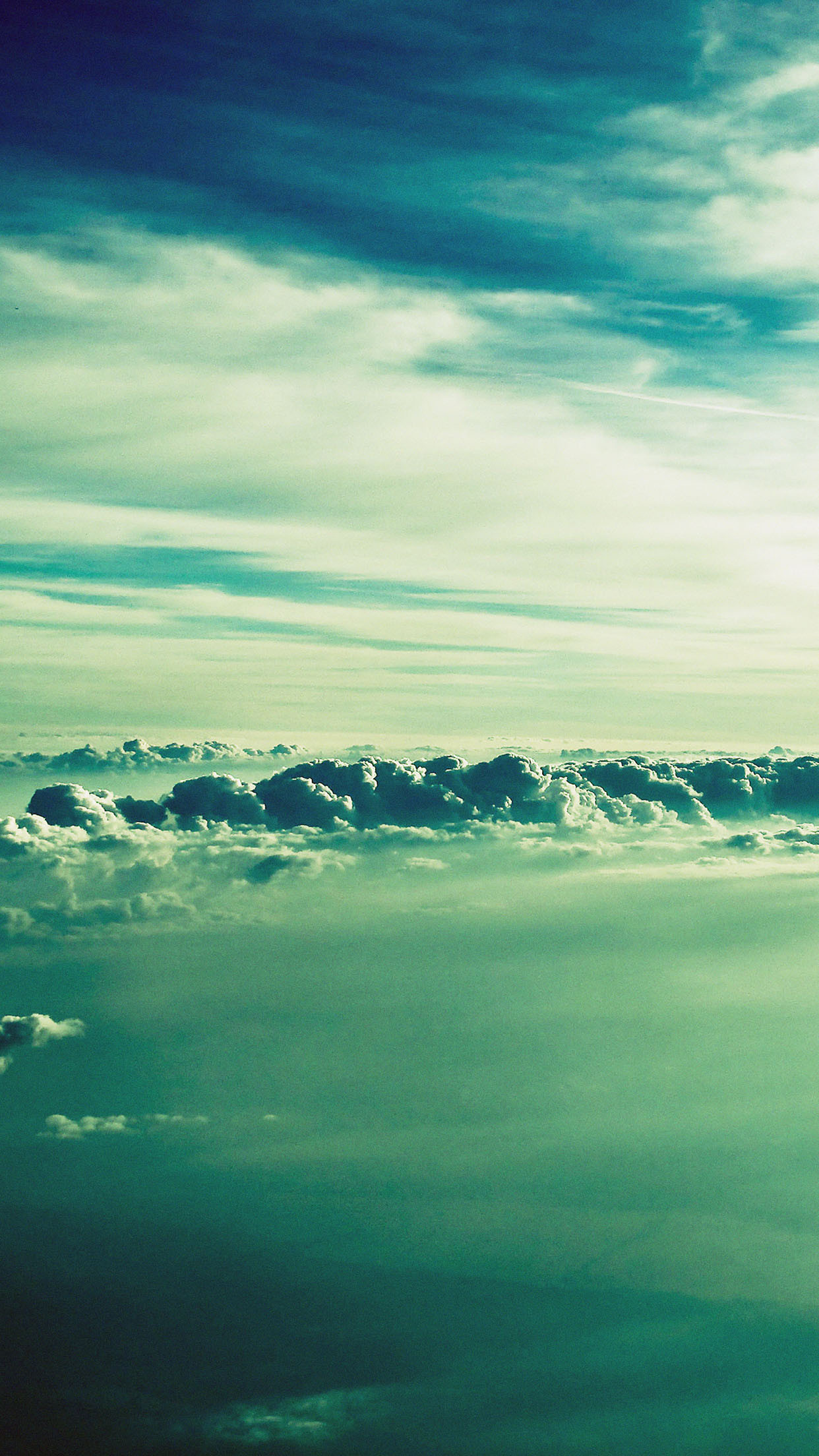 Fluffy Clouds Sky View Android Wallpaper …