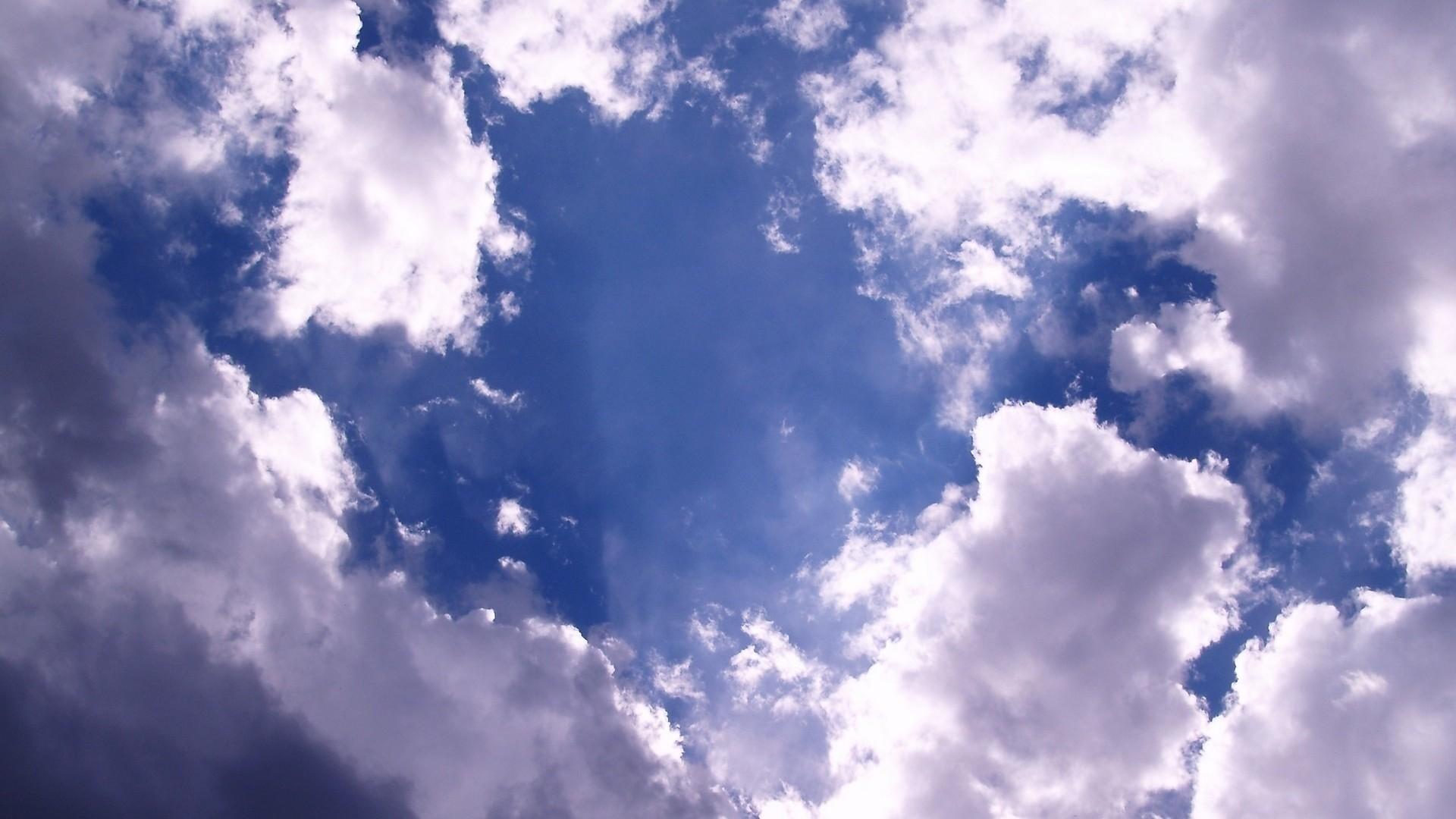 Wallpaper clouds, sky, white, blue, light