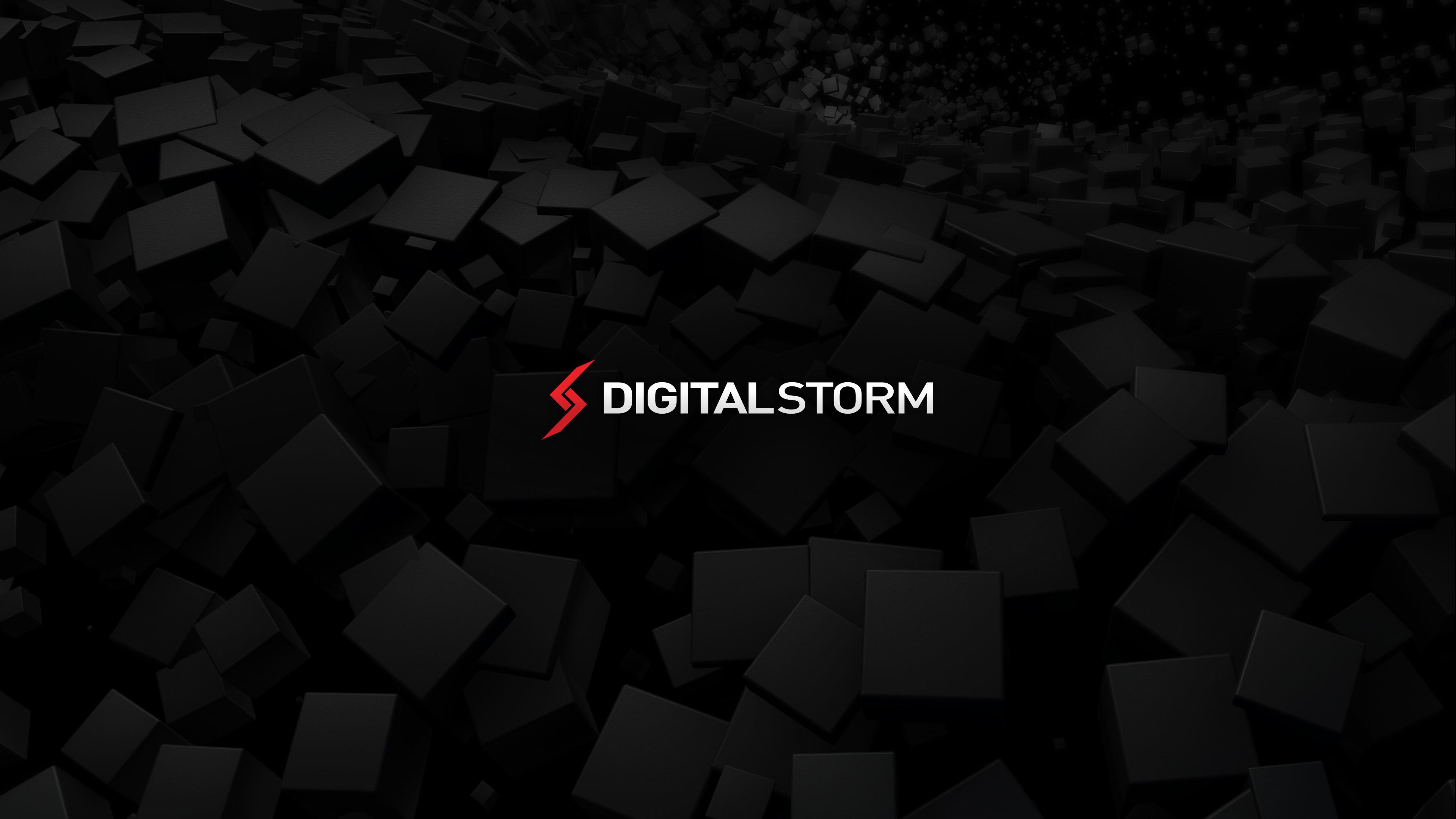 f. Digital Storm Black Hole Wallpaper