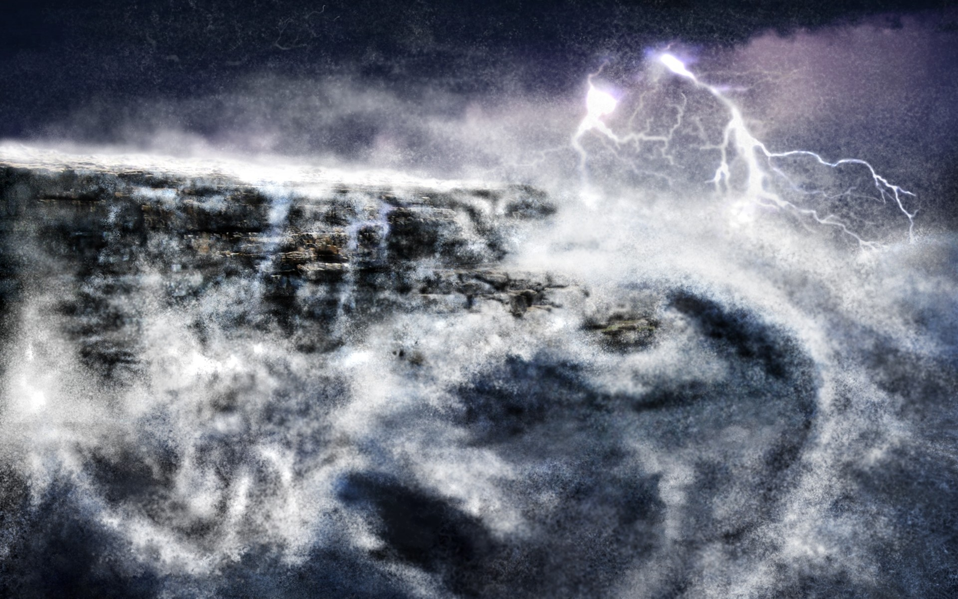 Lightning Storm Wallpapers For Desktop.