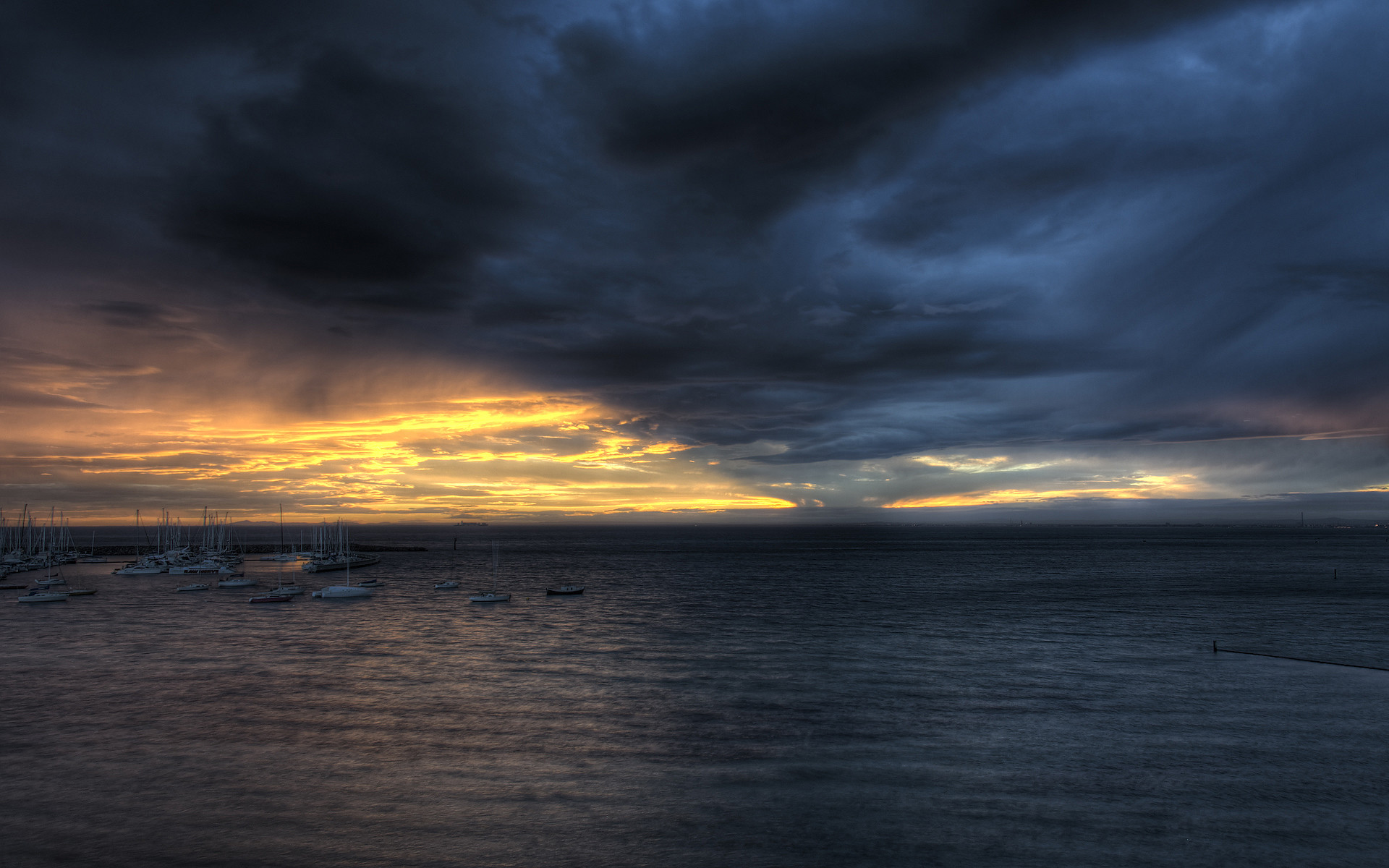 Storm Clouds Desktop Wallpaper 10380