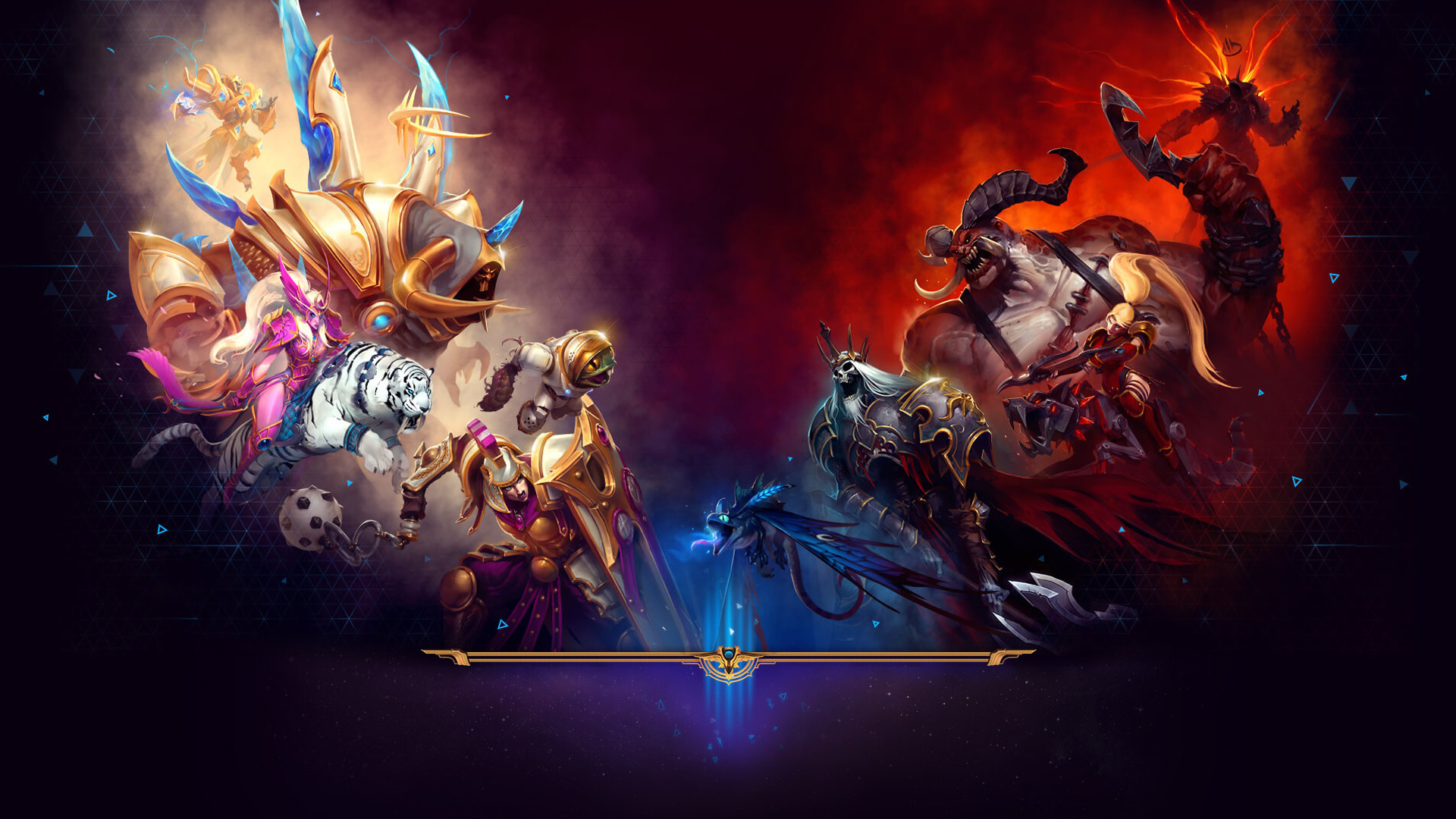 Heroes Of The Storm Wallpapers Pack 862: Heroes Of The .