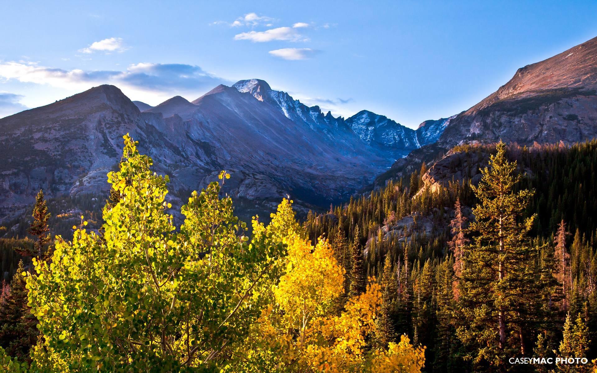 March 2012 Desktop Wallpaper – Rocky Mountain National Park .