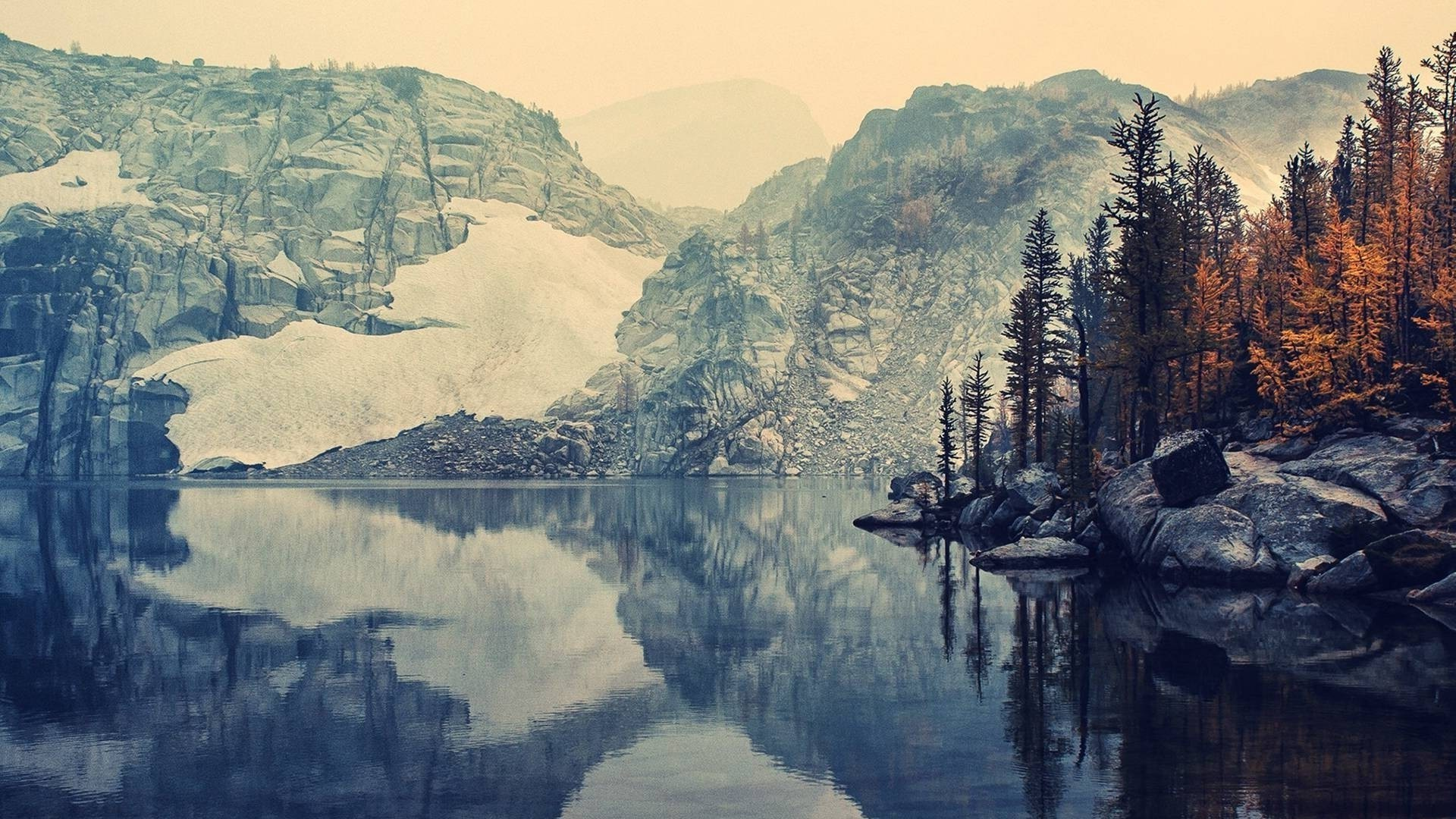 nature, Landscape, Mountain, Fall, Lake Wallpapers HD .