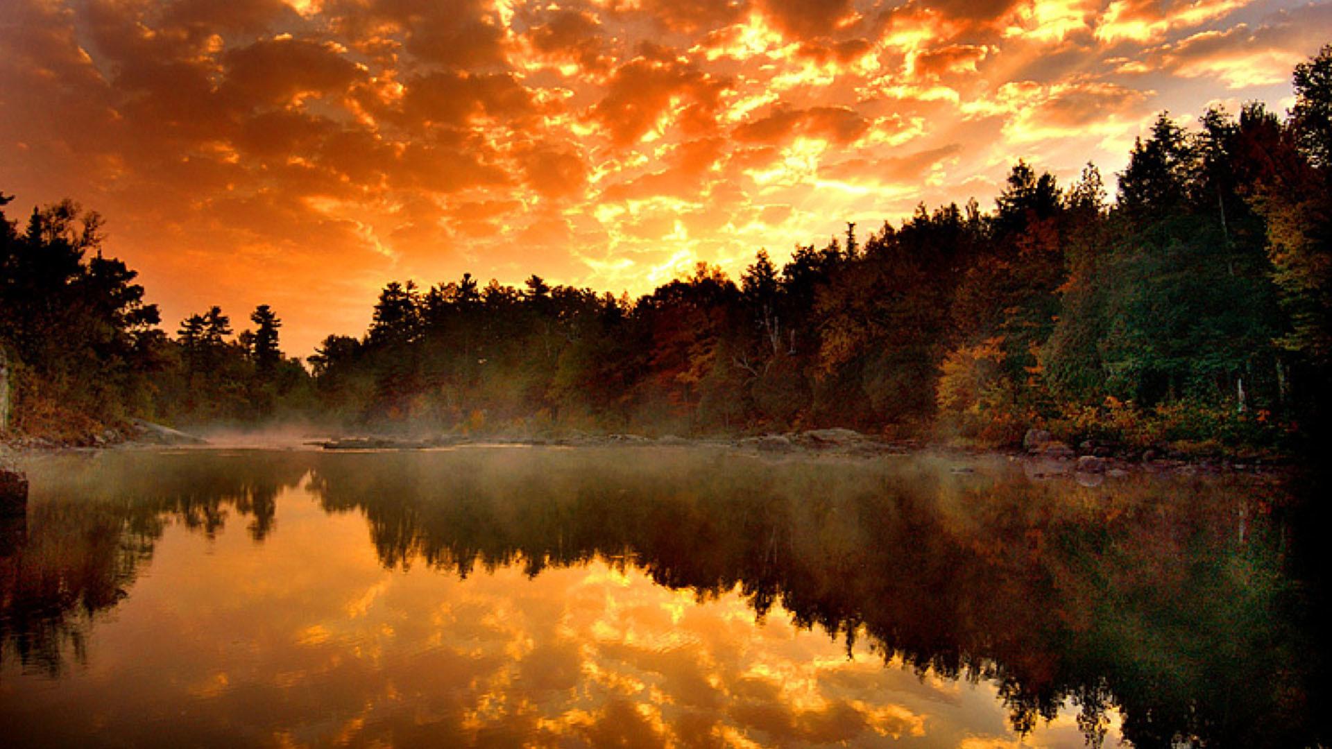 Nature Sunset Wallpaper HD 1080p | HD Wallpaper