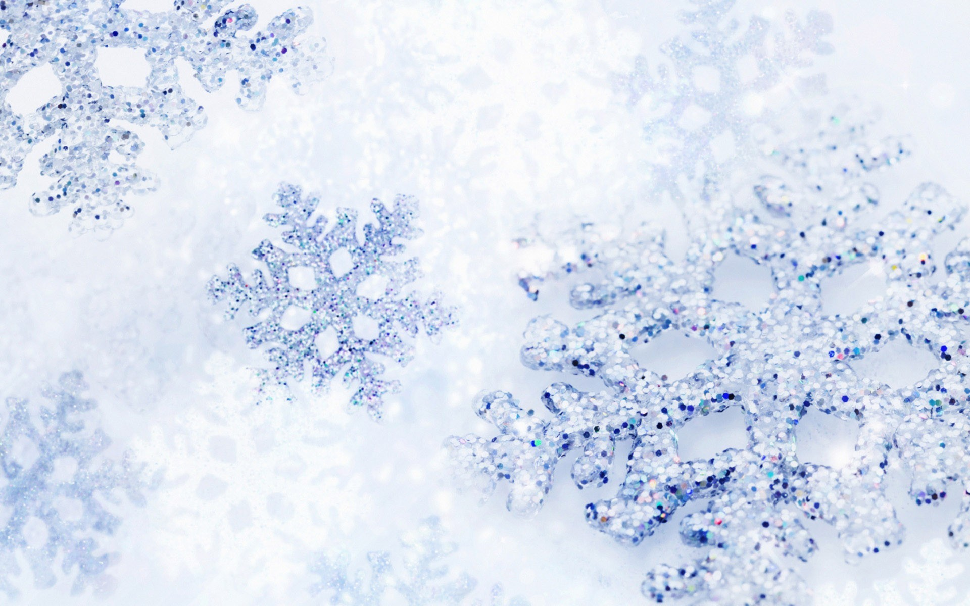 Christmas Snow Background for Wallpaper 1920x1200px