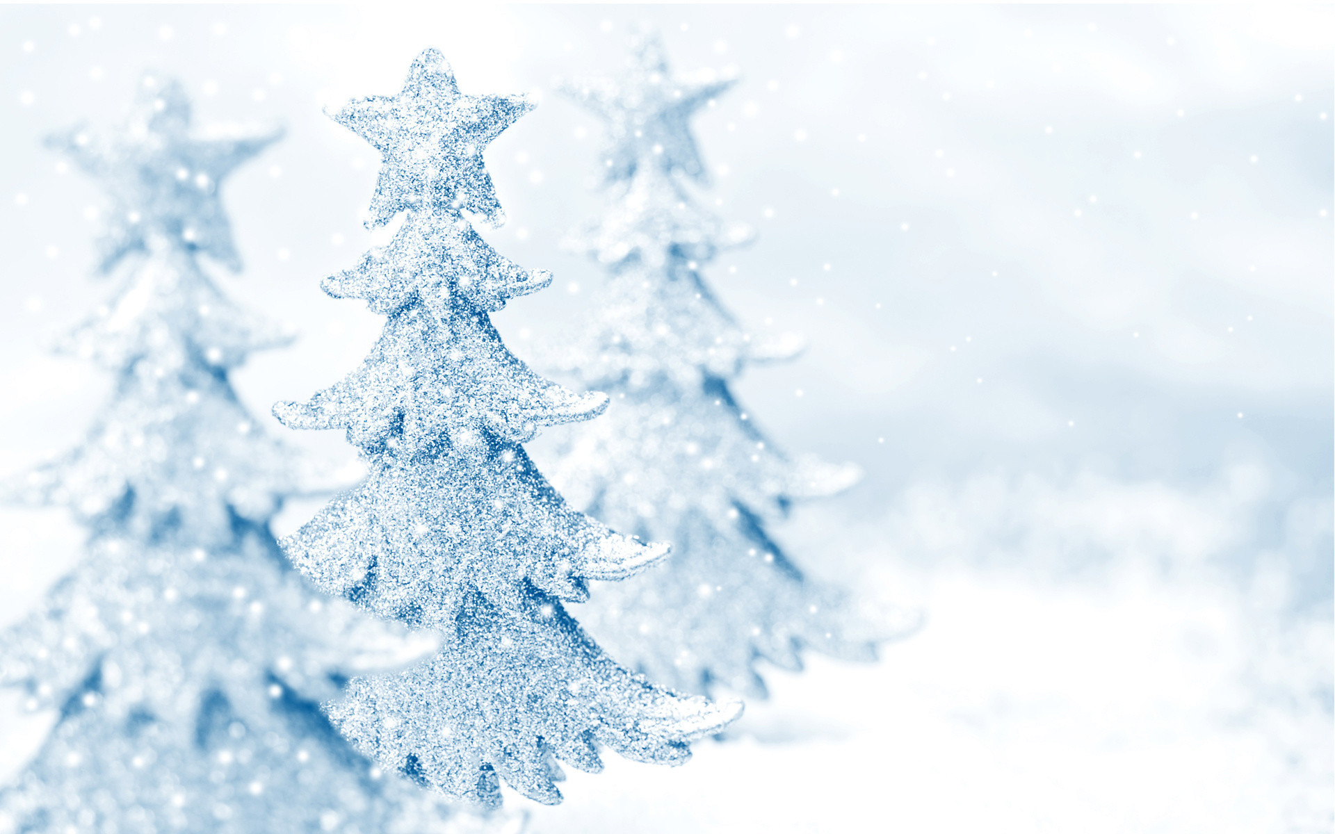 … Christmas Snow Backgrounds