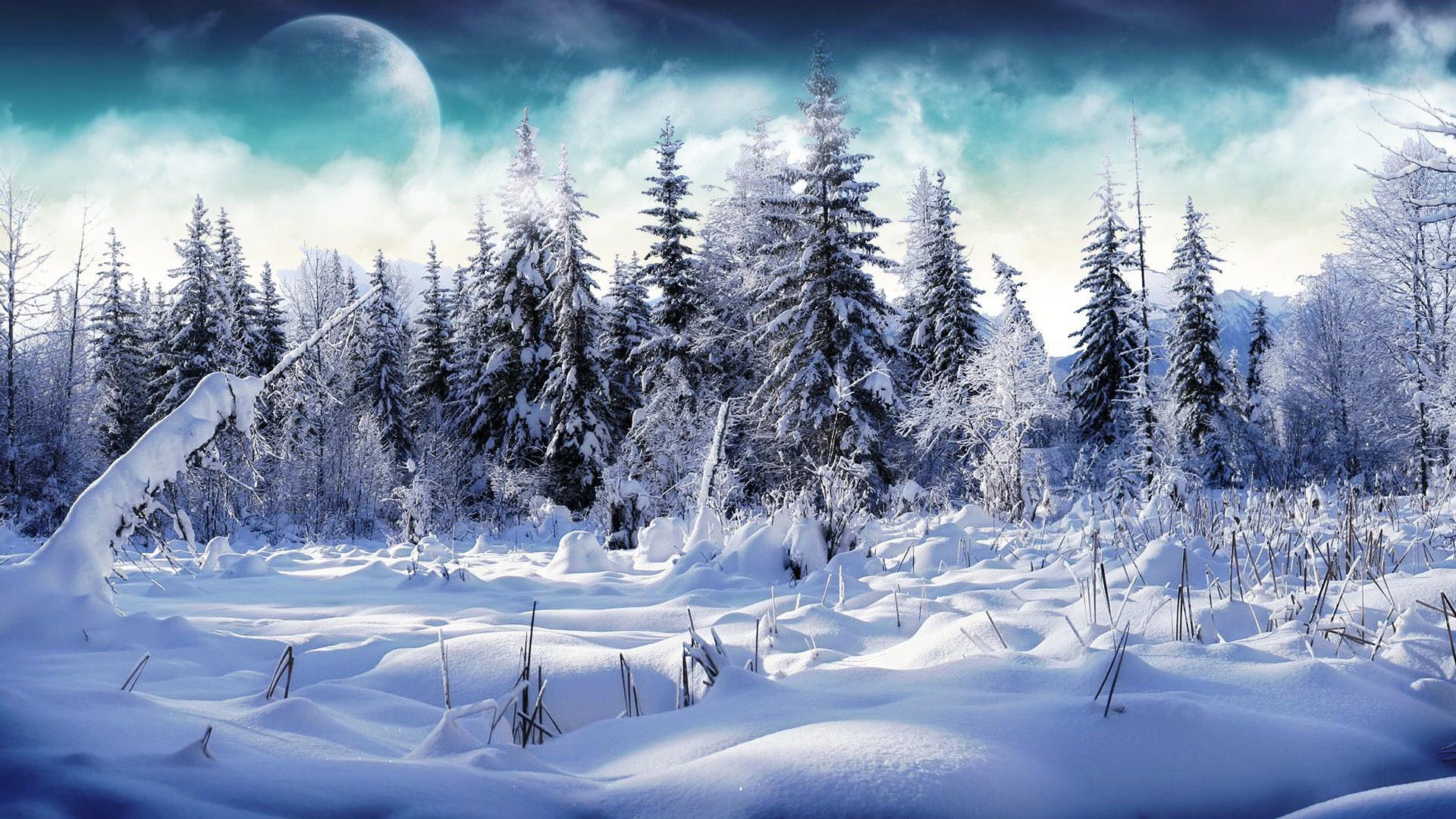 HD Snow Wallpaper For Laptop