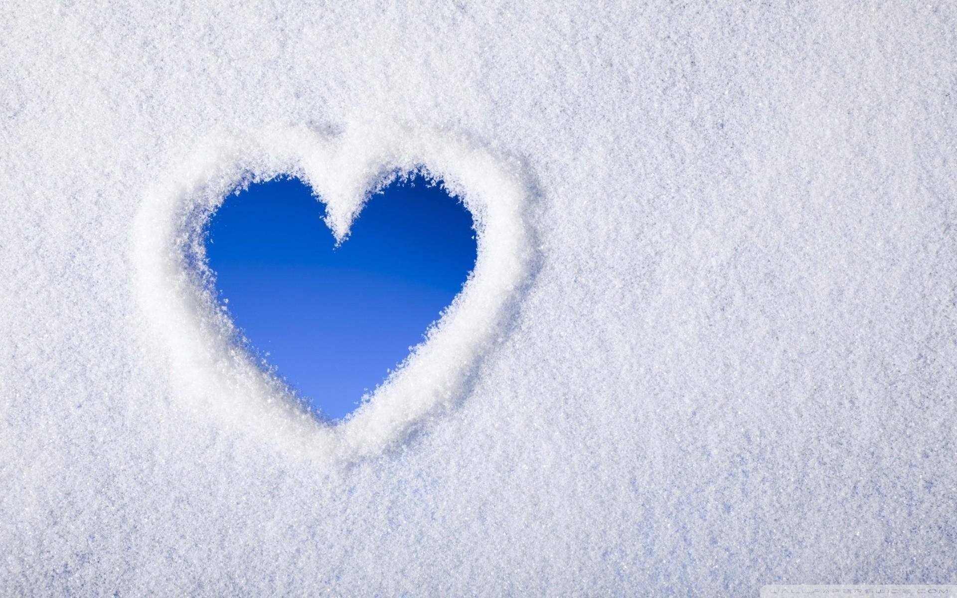 Snow Love HD Wide Wallpaper for Widescreen