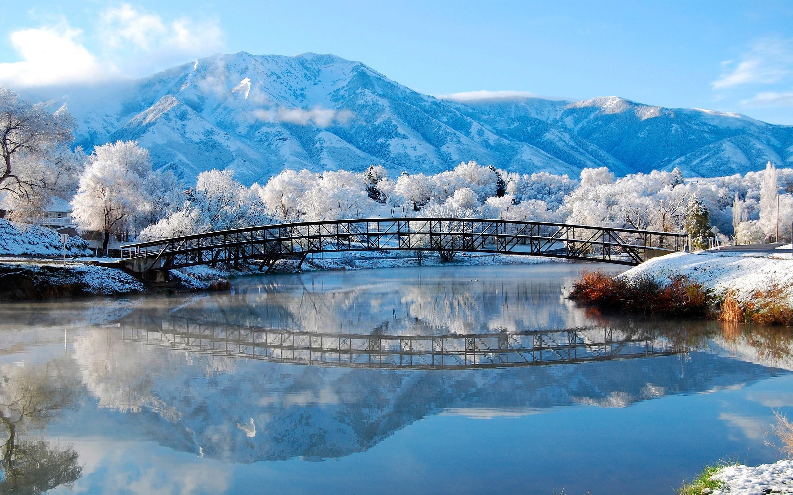 Winter Mountain Desktop Backgrounds (41 Wallpapers)
