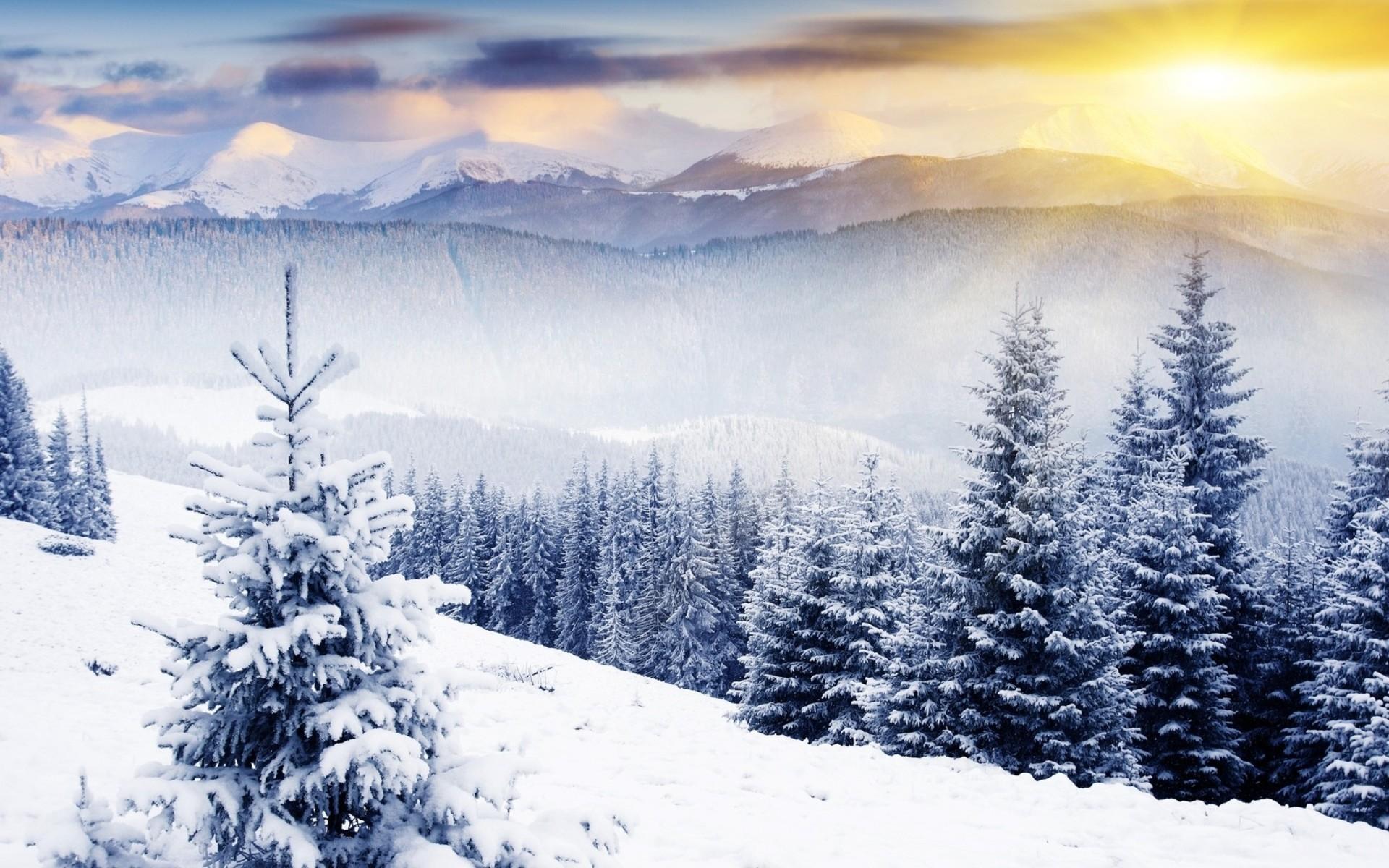 Winter Scenes Desktop Backgrounds (42 Wallpapers)