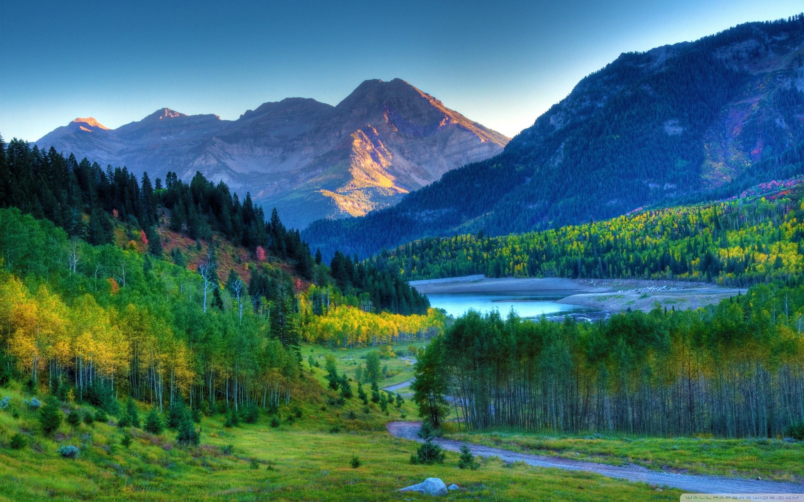 autumn mountain landscape HD Desktop Wallpaper | HD Desktop Wallpaper