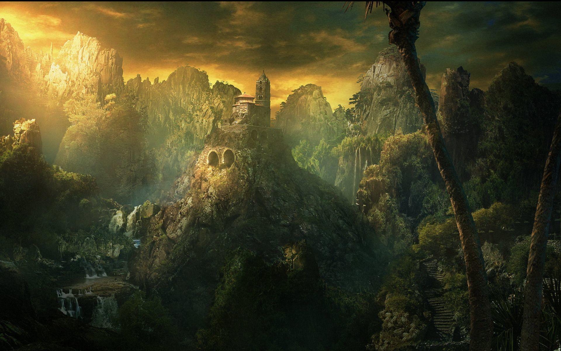 Fantasy Landscape Wallpapers Desktop