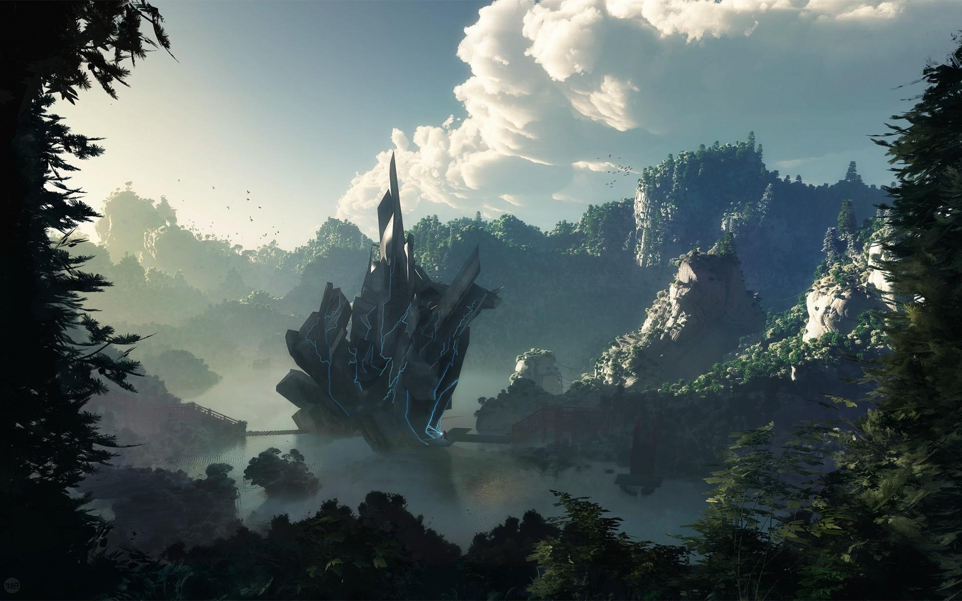 digital Art, Artwork, Fantasy Art, Landscape Wallpapers HD / Desktop and  Mobile Backgrounds