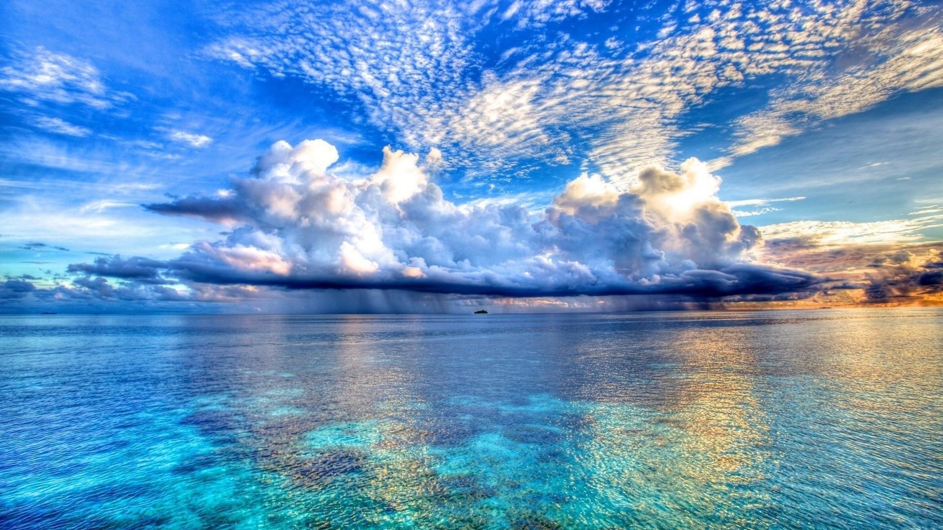 ocean wallpaper clouds. Â«Â«