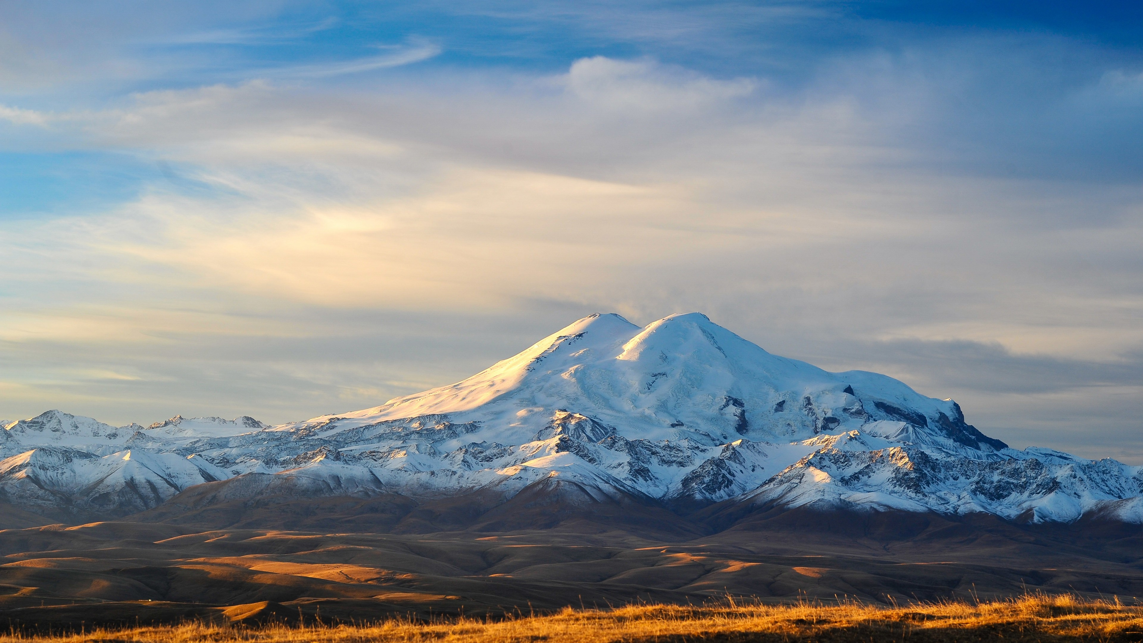 Tags: Mount Elbrus, Highest mountain, Russia, 4K