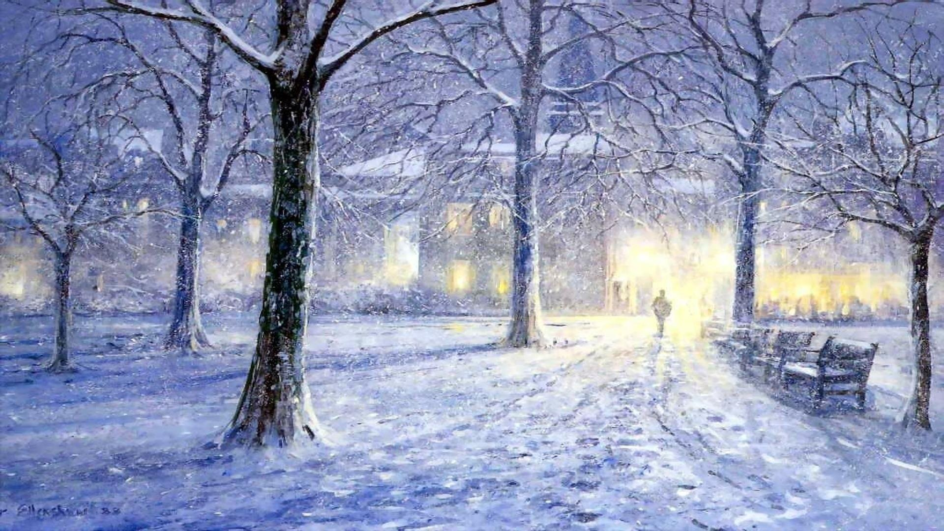 undefined Winter Backgrounds For Desktop (51 Wallpapers) | Adorable  Wallpapers