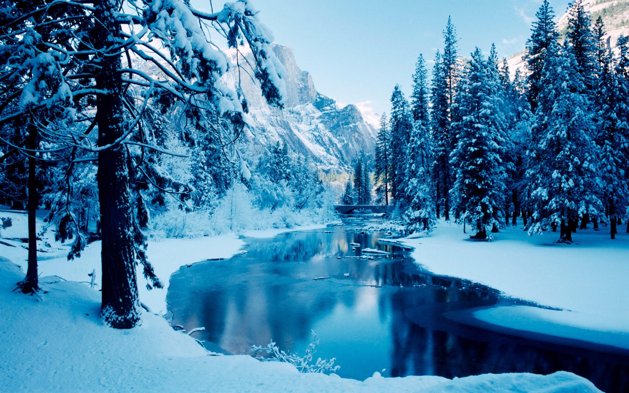 Winter Scenes Desktop Backgrounds (54 Wallpapers)