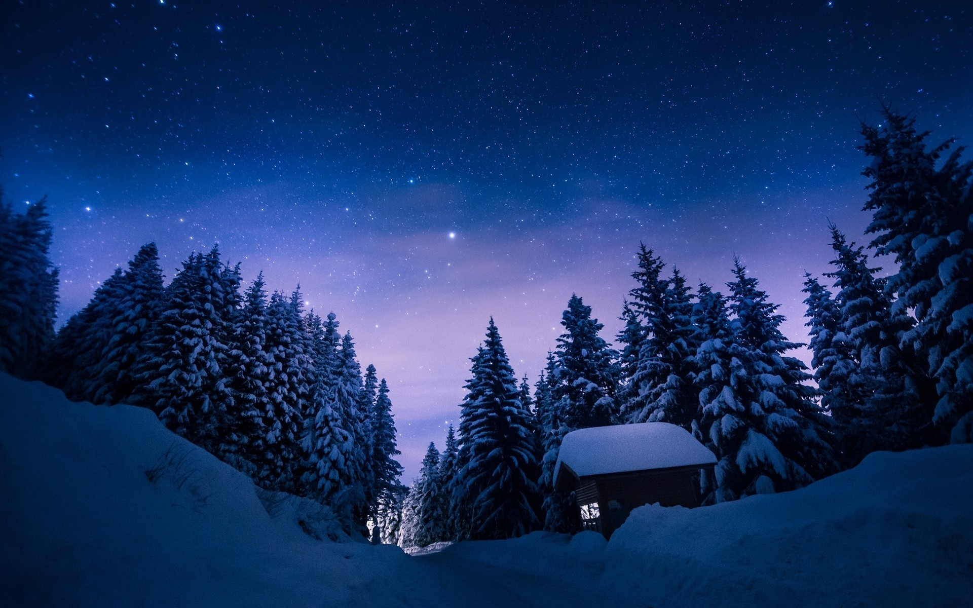 … scenes wallpapersafari; stary snowy night background clipart collection  …