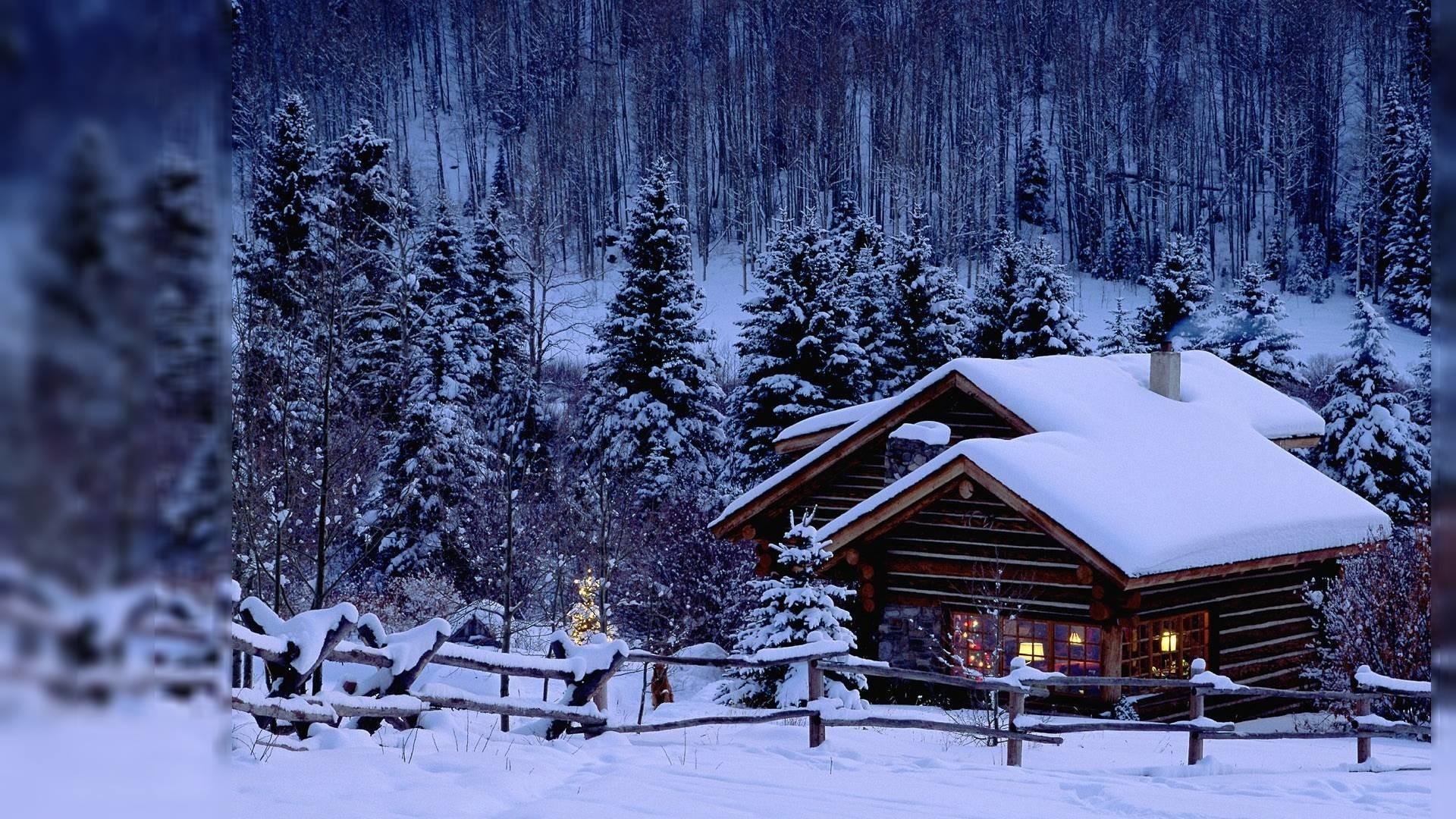 Wallpapers For > Night Winter Wallpaper For Desktop