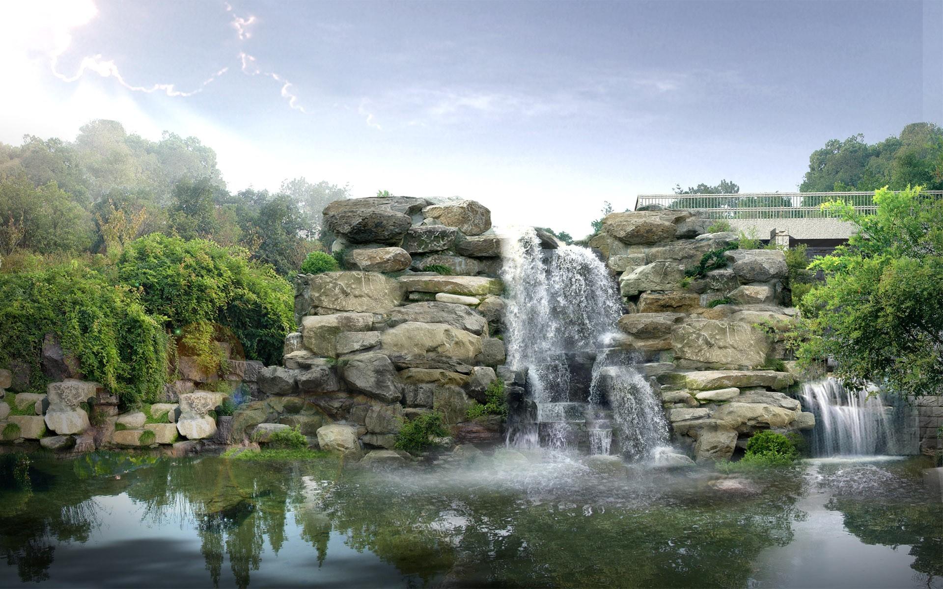 Click here to download in HD Format >> Japan Digital Waterfall https:// · Nature  WallpaperHd …