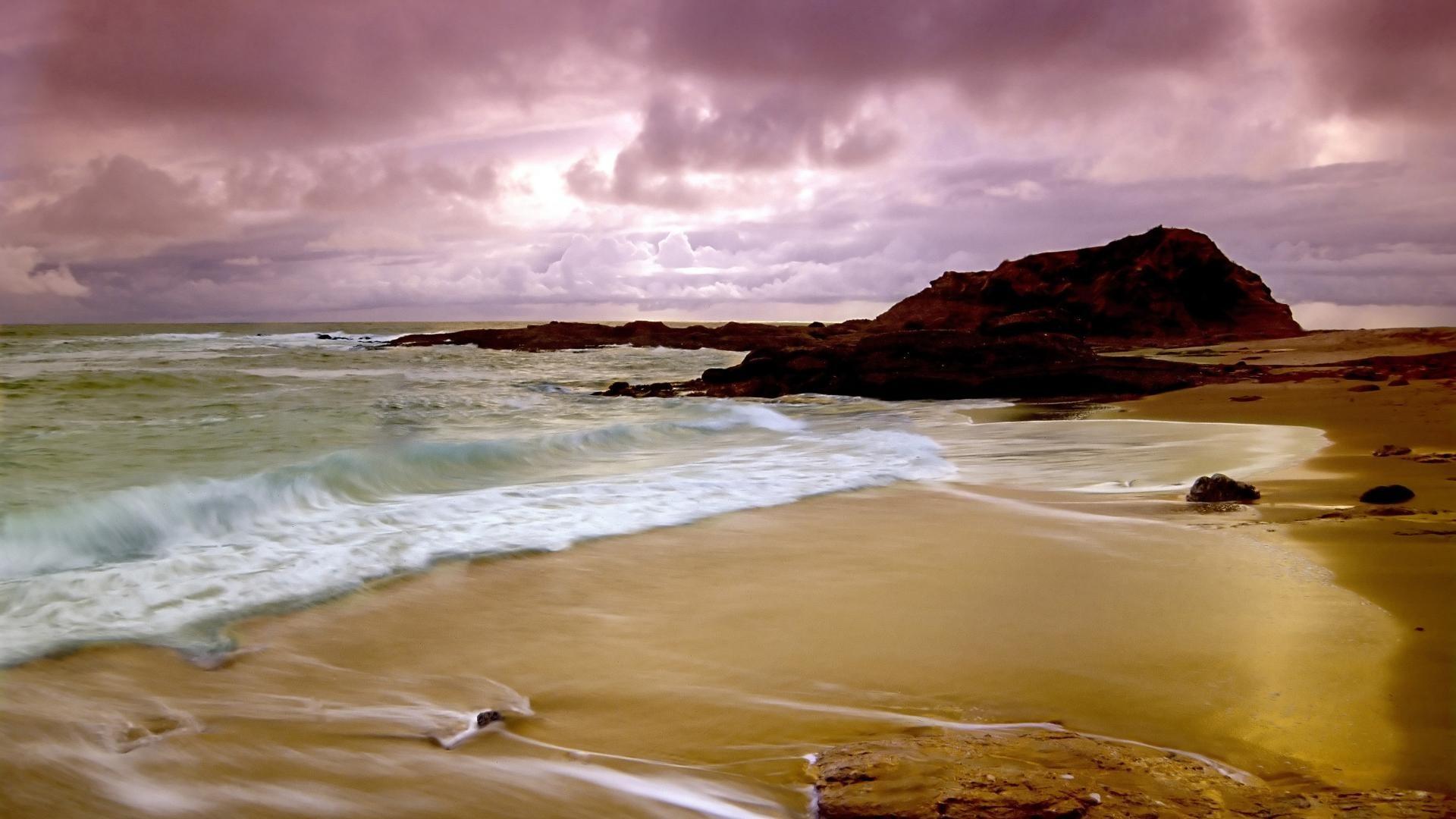 Ocean Tag – Ocean Beach Landscape Nature Scenes Wallpaper Desktop for HD  16:9 High