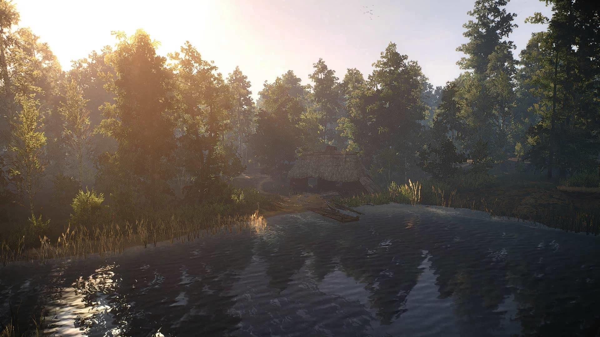 Animated Desktop Wallpaper of The Witcher 3 – White Orchard IV: The Lake –  YouTube