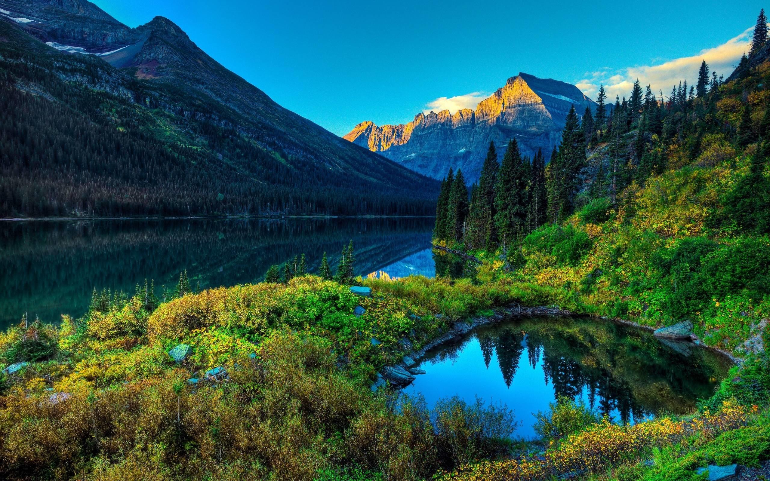 Mountain Lake Scene HD Wallpapers – HD Wallpapers Inn