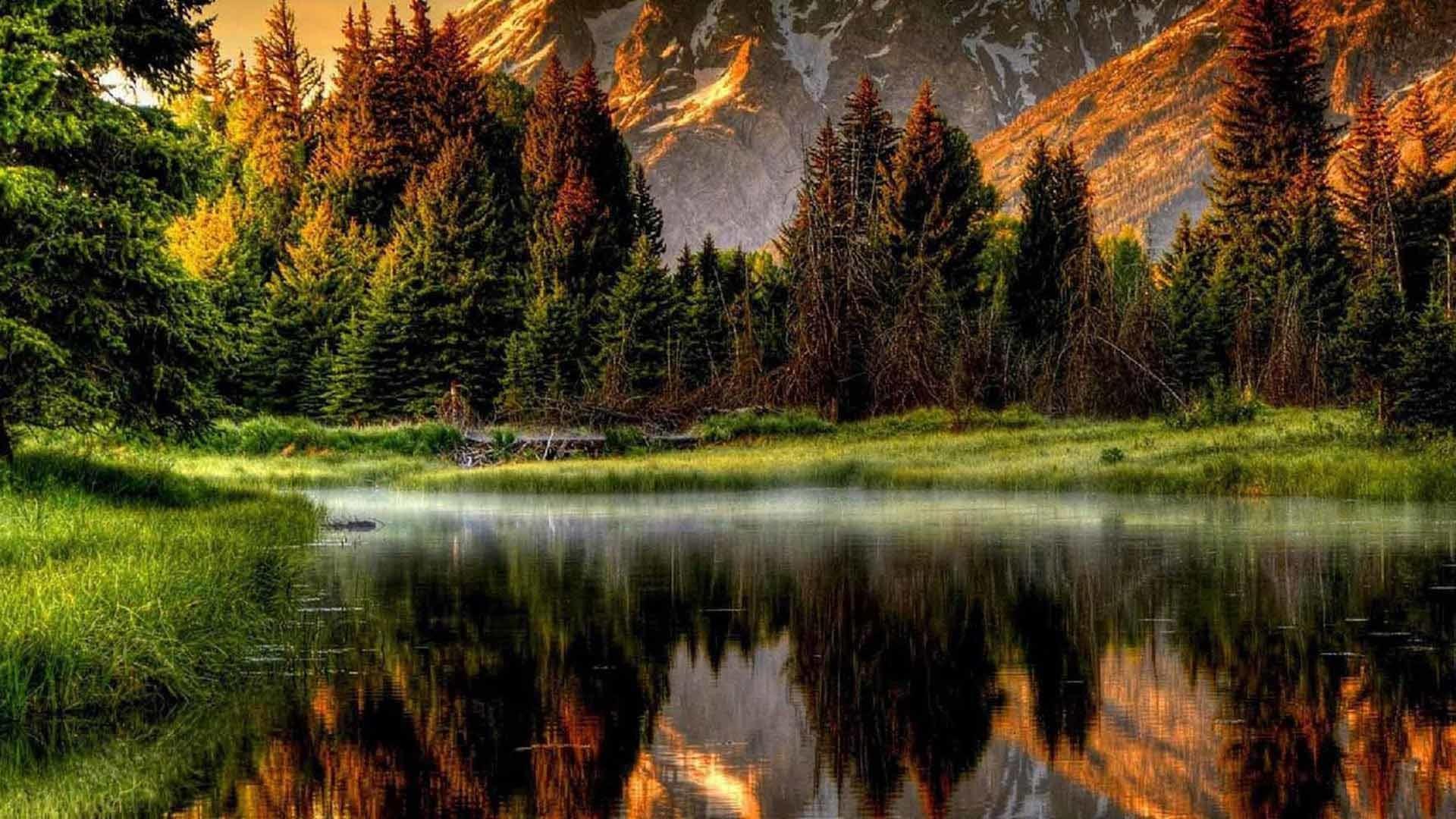 Mountain Scene Wallpapers.