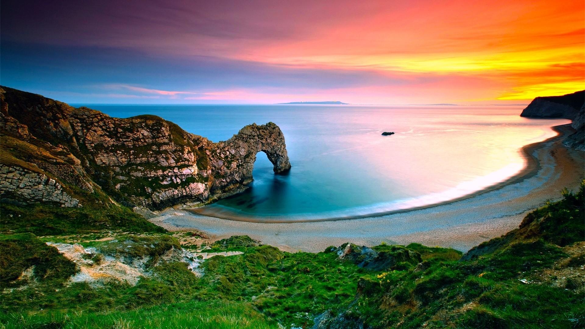 Landscap Wallpaper   … landscape ocean beach HD Desktop Wallpaper   HD Desktop  Wallpaper