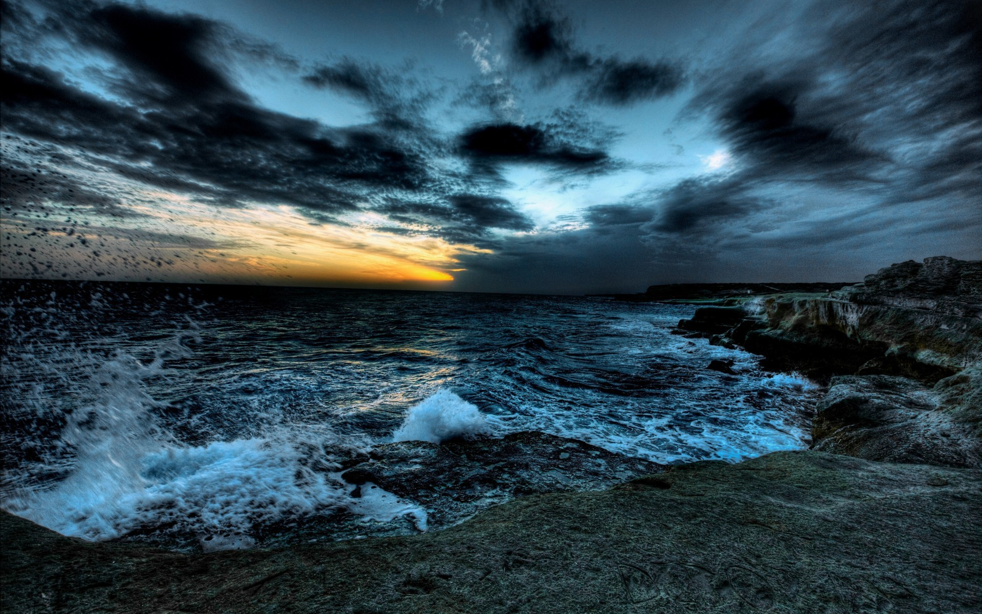 Ocean Storm Wallpapers with High Resolution Wallpaper px 681.67 KB