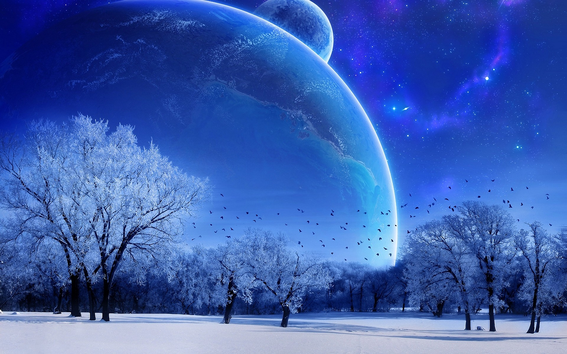 Winter Background HD Wallpapers