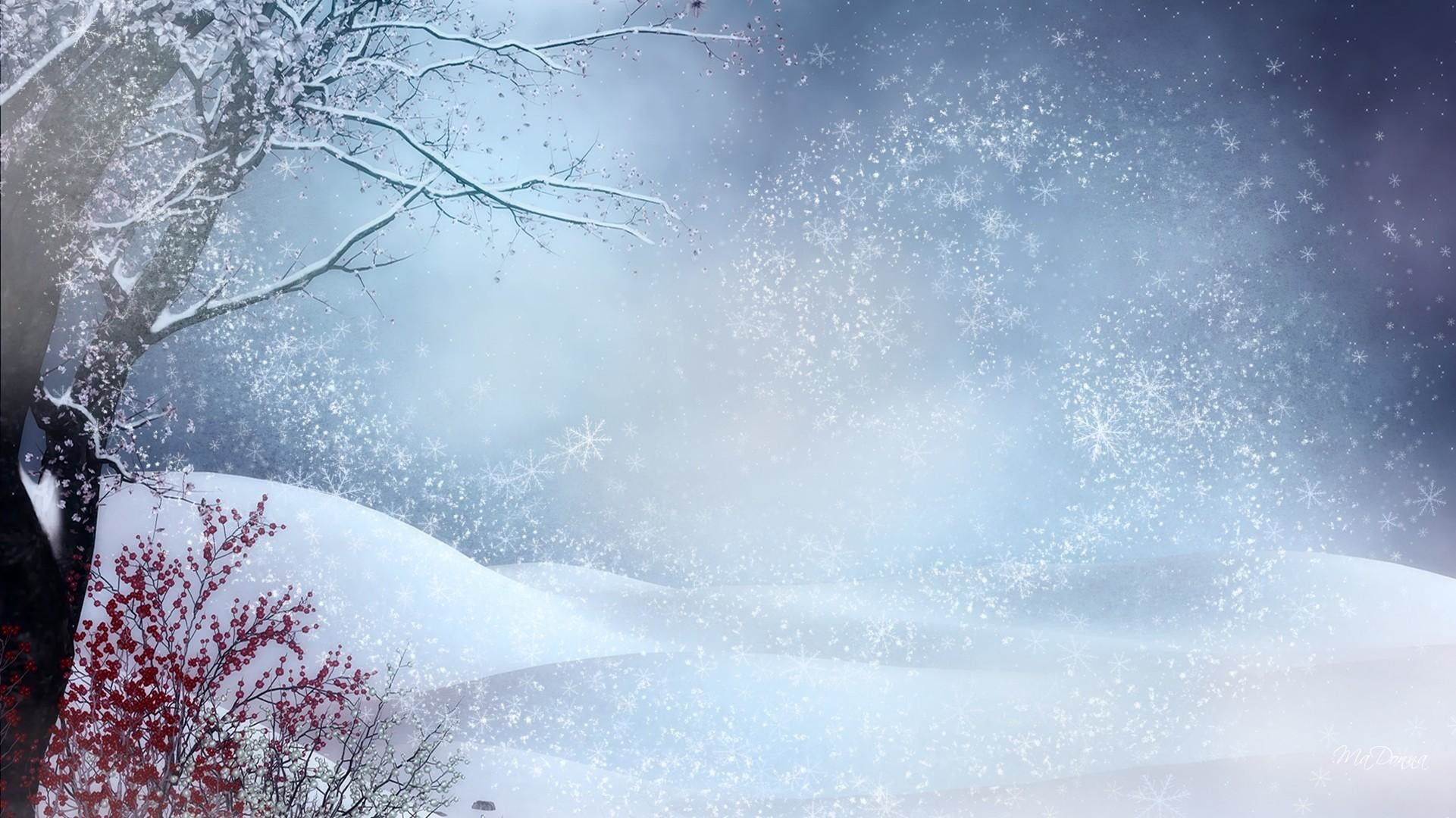 Images For > Winter Snow Wallpaper